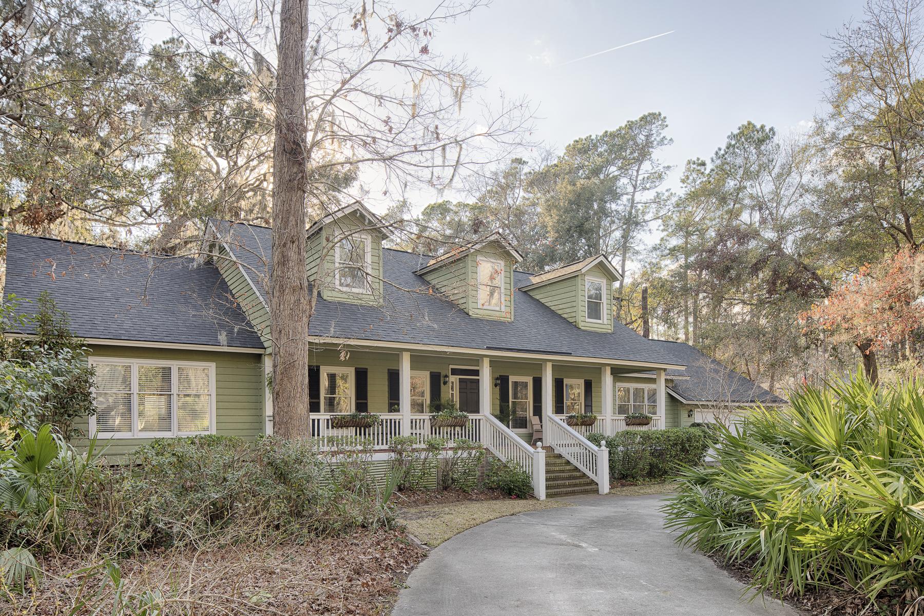 Частный односемейный дом для того Продажа на 8 Skipjack Lane Skidaway Island, Джорджия, 31411 Соединенные Штаты