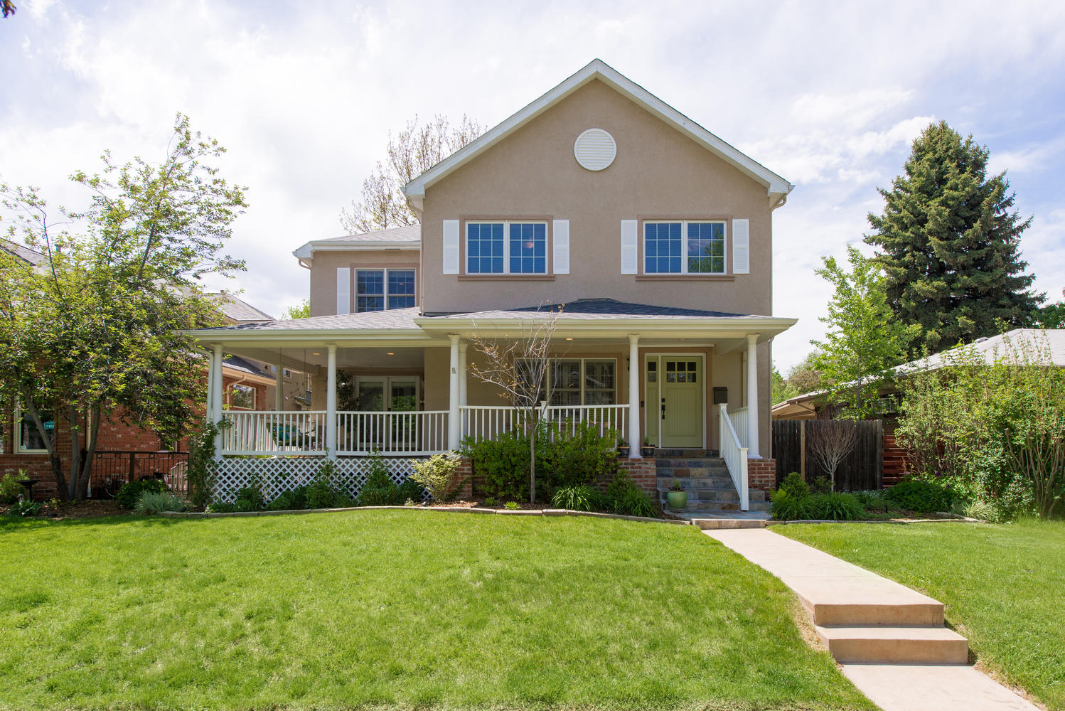 Single Family Home for Sale at Observatory Park Beauty! 2485 South Fillmore Street Denver, Colorado, 80210 United States