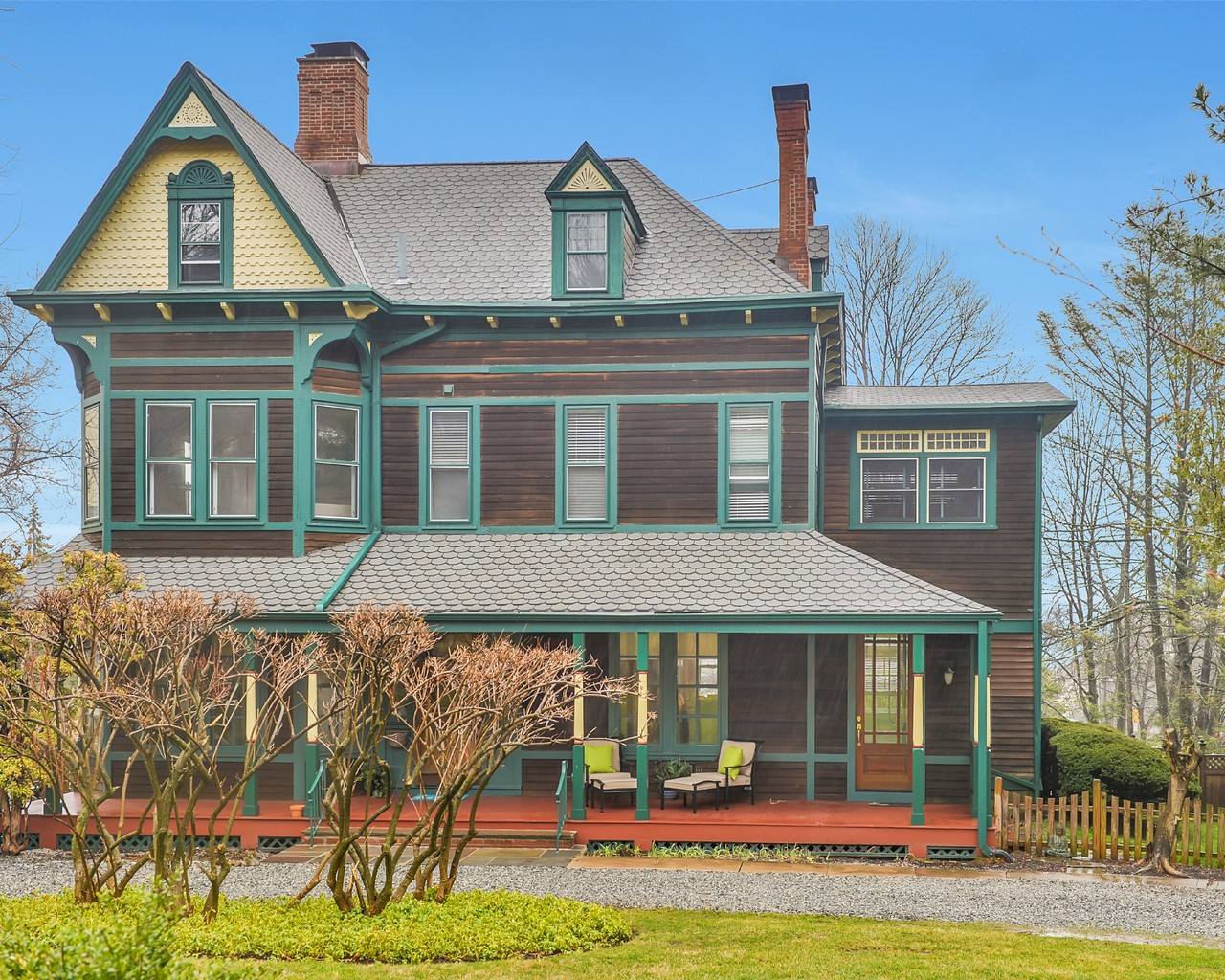 단독 가정 주택 용 매매 에 Sophisticated Queen Anne Victorian 335 Upper Mountain Avenue Montclair, 뉴저지, 07043 미국