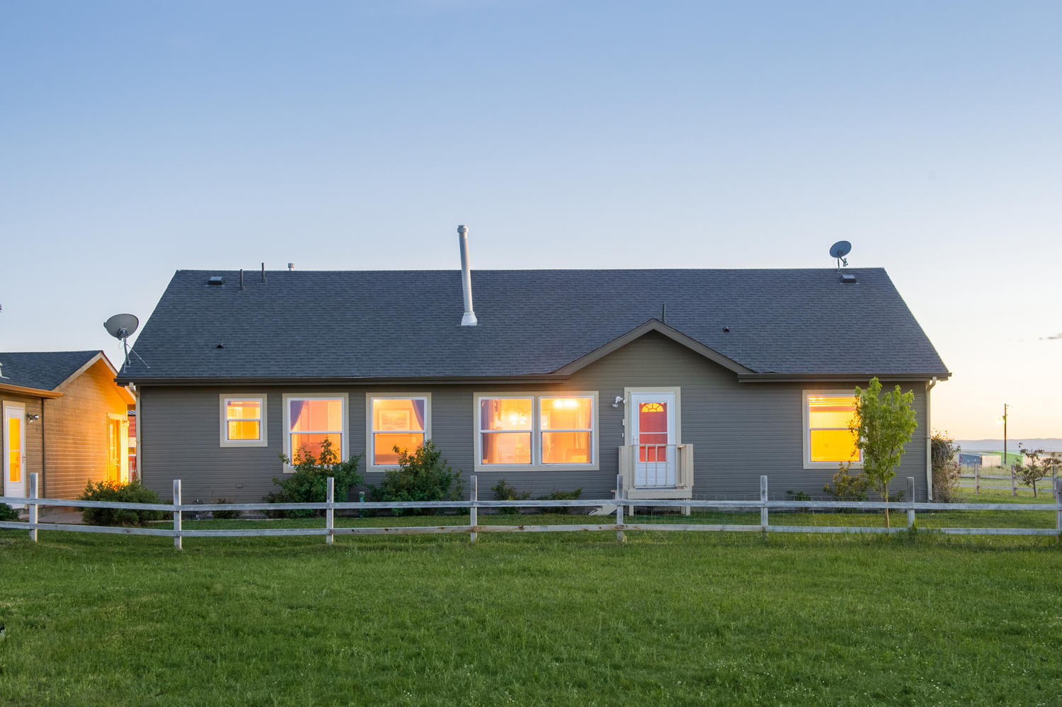 Single Family Home for Active at Fall in love with this Colorado country charmer on 5 acres in Elbert 22745 Eagle Dr Elbert, Colorado 80106 United States