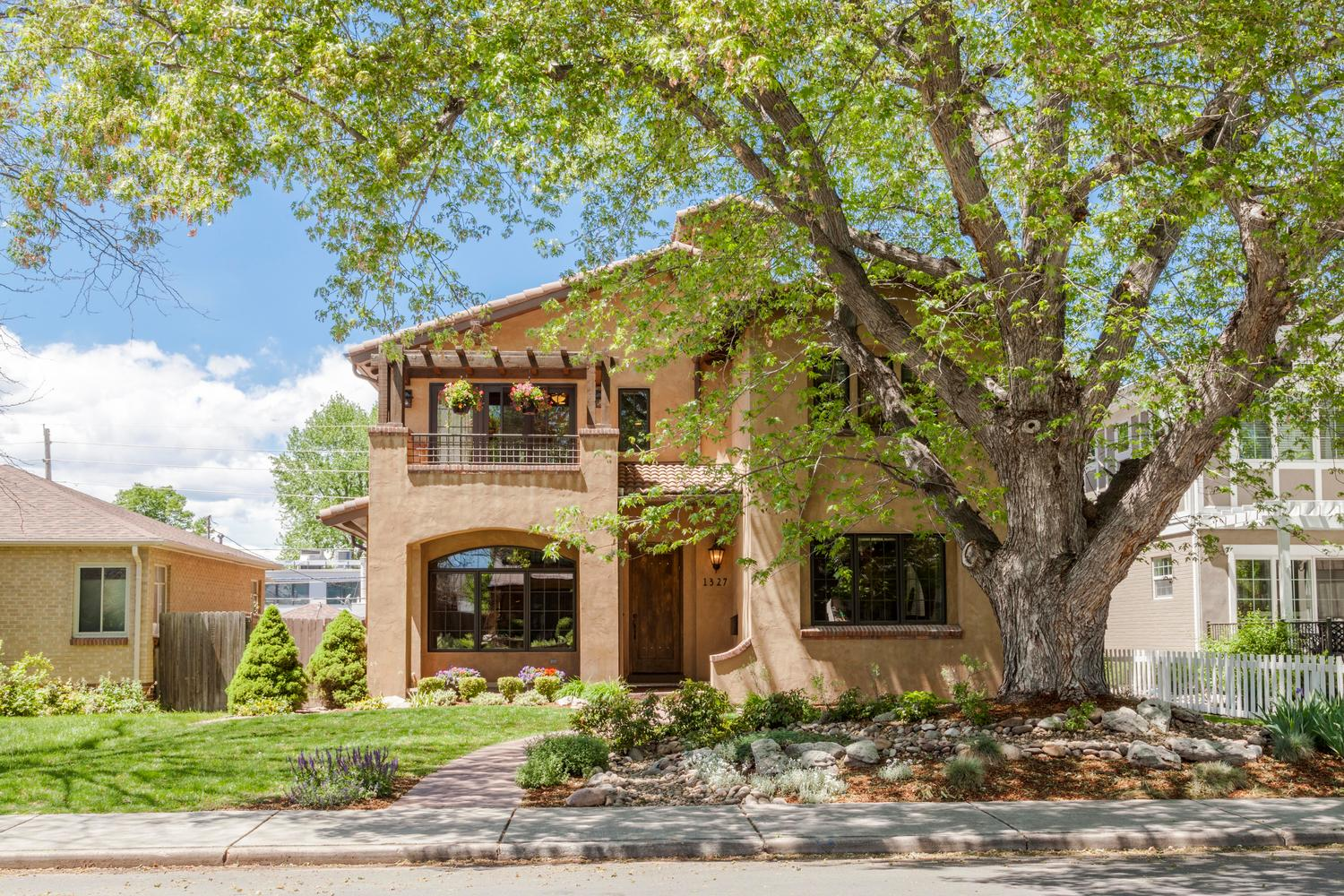 Single Family Home for Sale at Exquisitely Crafted Home 1327 South Saint Paul Street Cory-Merrill, Denver, Colorado, 80210 United States