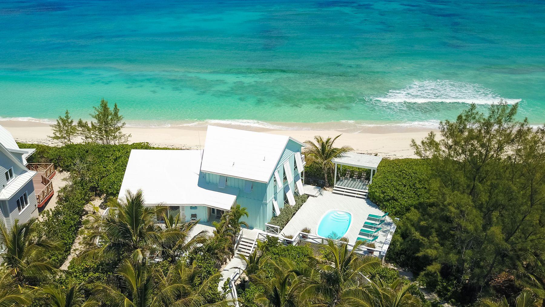 Tek Ailelik Ev için Satış at Oceanview Beach House Elbow Cay Hope Town, Abaco, Bahamalar