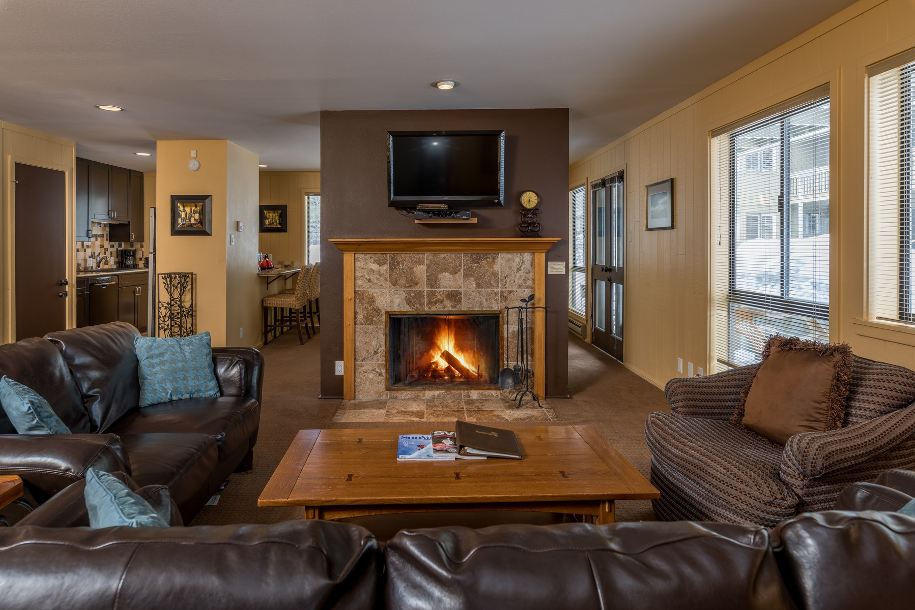 Condomínio para Venda às Single Level Living In Sun Valley 1469 Cottonwood Condo Dr Sun Valley, Idaho, 83353 Estados Unidos