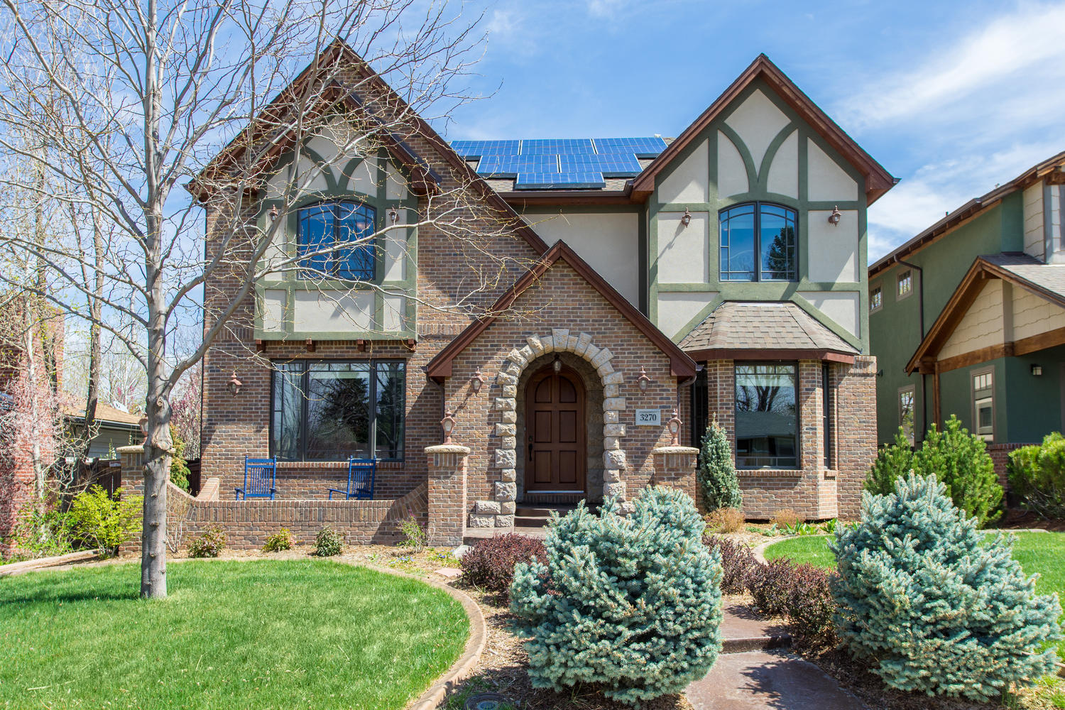 Single Family Home for Sale at Lovely Brick Traditional Home In University Hills 3270 South Clermont Street University Hills, Denver, Colorado, 80222 United States