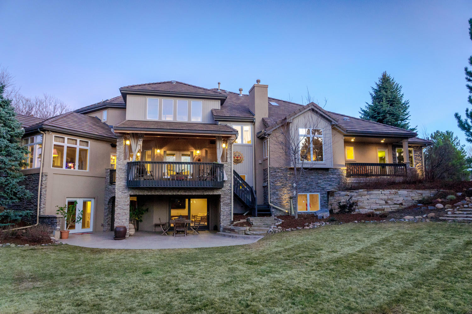 Single Family Home for Active at Custom-Built Home on a Quiet and Peaceful Cul-De-Sac 5501 Hawthorn Circle Greenwood Village, Colorado 80121 United States