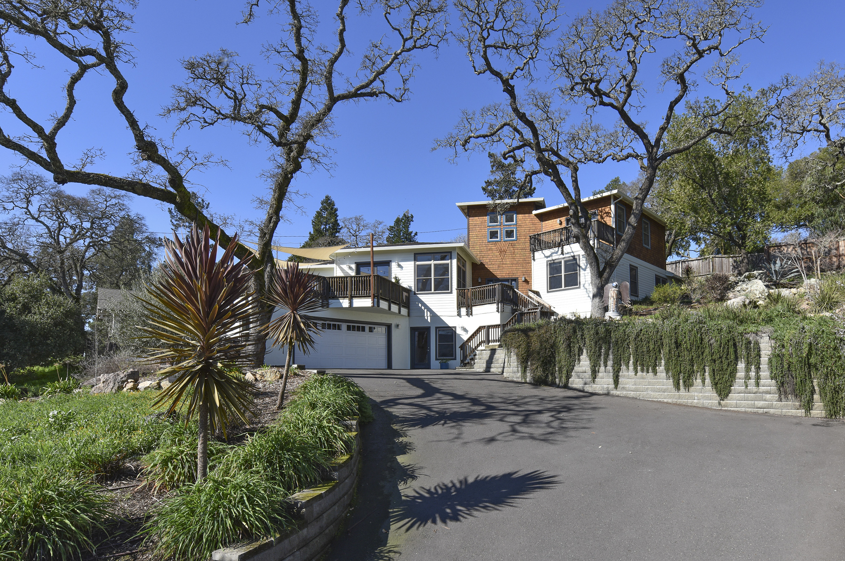 Single Family Home for Sale at Stunning Views in this Custom Contemporary Home! 10 Jacks Lane Napa, California 94558 United States