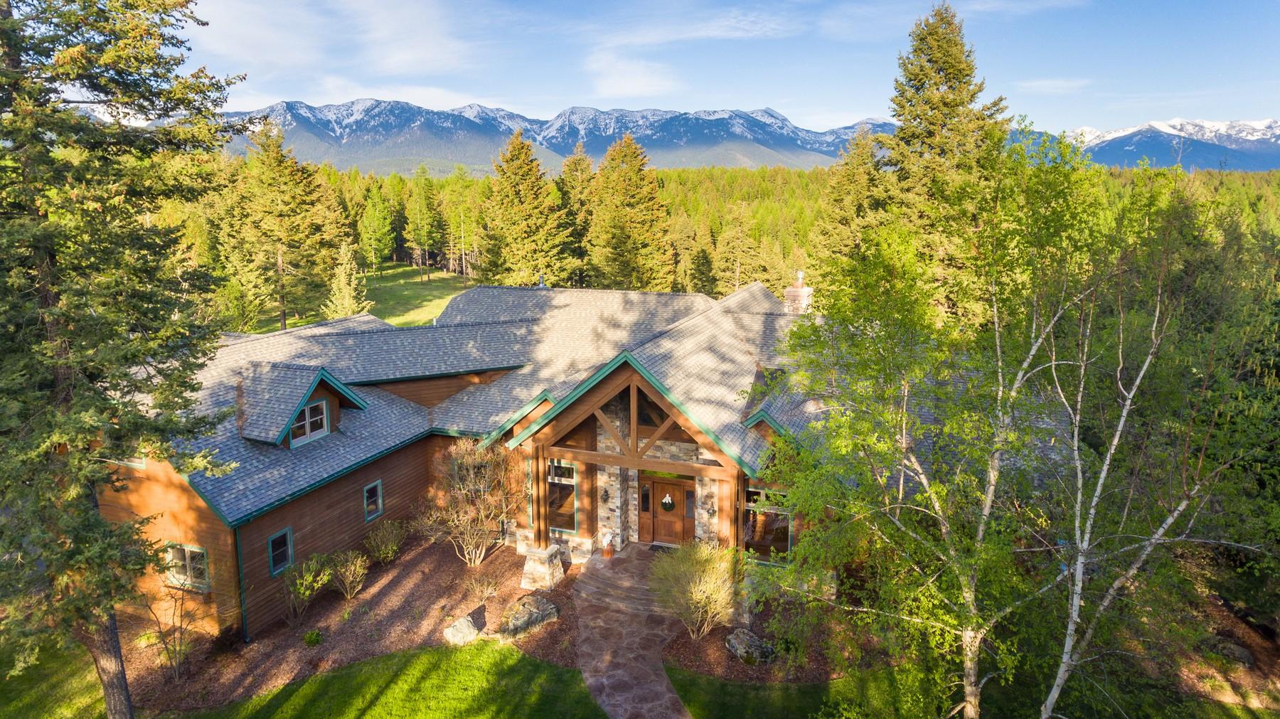 Villa per Vendita alle ore 10 Sky Ln , Kalispell, MT 59901 10 Sky Ln Kalispell, Montana, 59901 Stati Uniti