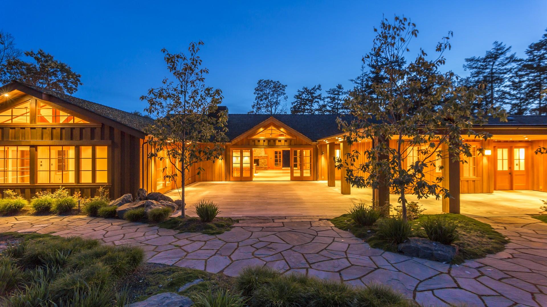 独户住宅 为 销售 在 Friday Harbor Estate 67 Roulac Lane 星期五港, 华盛顿州, 98250 美国