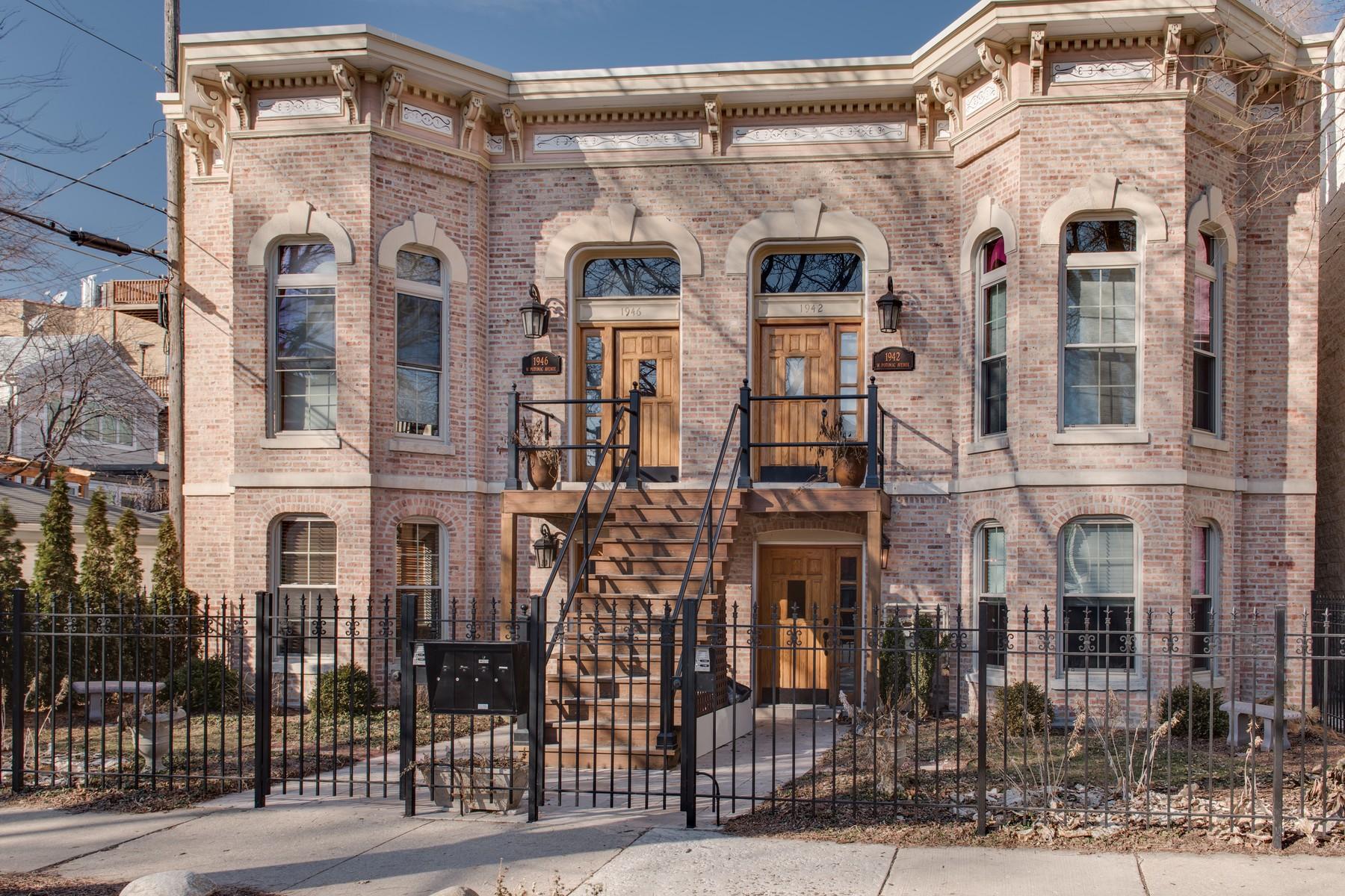 Eigentumswohnung für Verkauf beim Extra-Wide Wicker Park Condo is Picture Perfect 1946 West Potomac Avenue Unit 1W West Town, Chicago, Illinois, 60622 Vereinigte Staaten