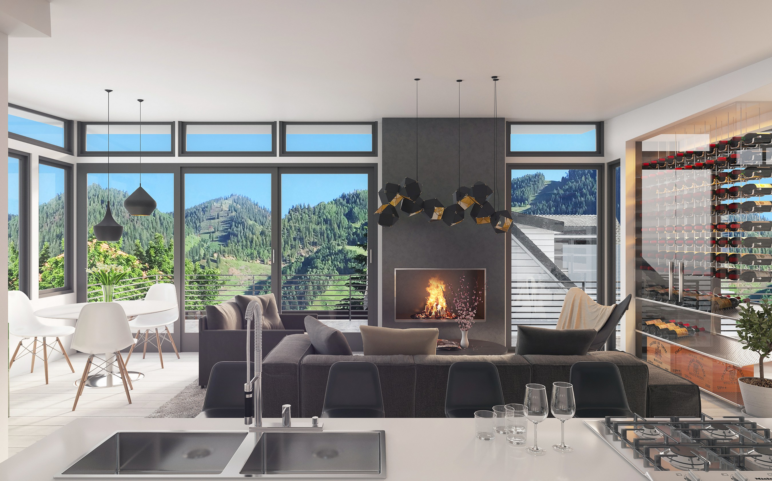 Duplex for Sale at Modern West End Duplex 203 North Monarch Street West End, Aspen, Colorado, 81611 United States