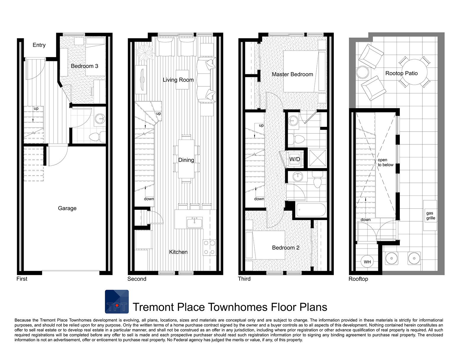 Additional photo for property listing at Amazing Opportunity To Own A New Townhome 365 22nd Street #1 Denver, Colorado 80205 United States
