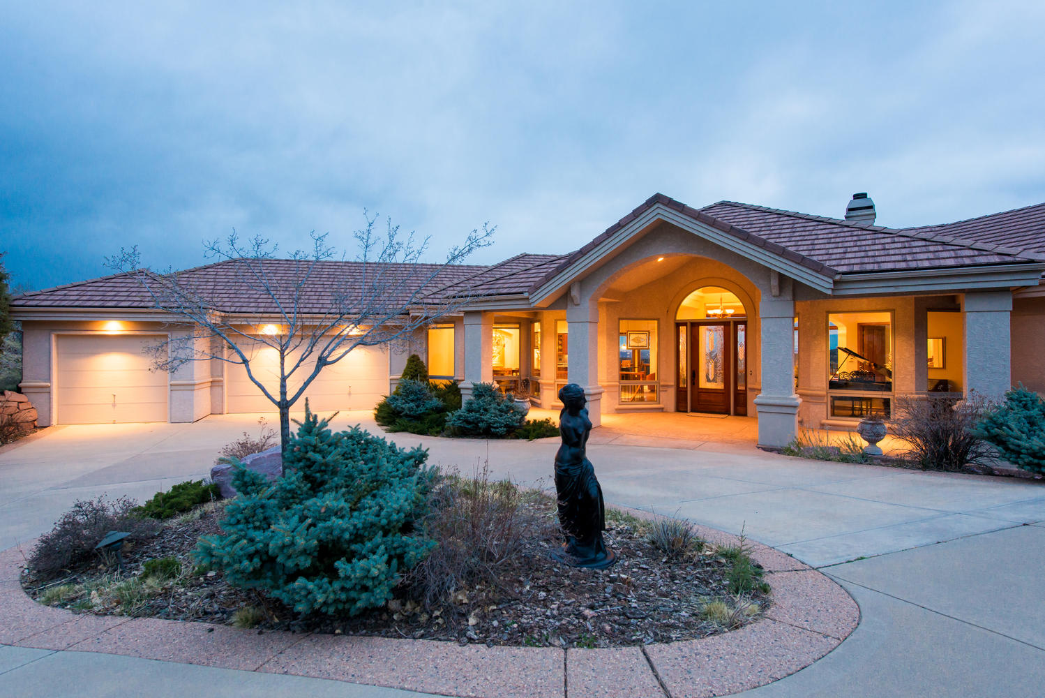Single Family Home for Sale at Stunning Summit Chalet custom 16461 Rocky Point Lane Morrison, Colorado, 80465 United States