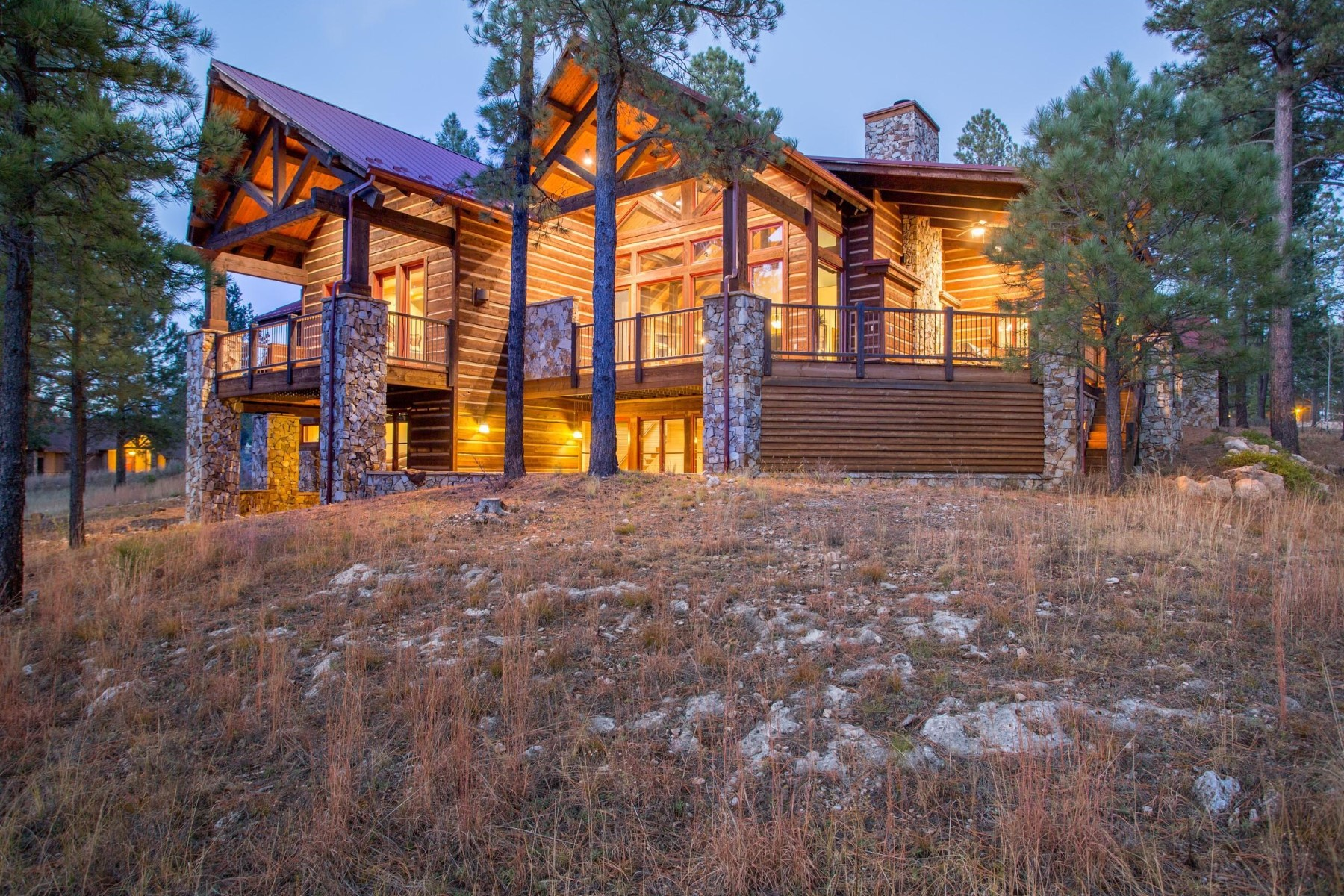 Single Family Home for Sale at Gorgeous Pine Canyon Mountain Retreat 1887 E Marengo CT Flagstaff, Arizona, 86005 United States