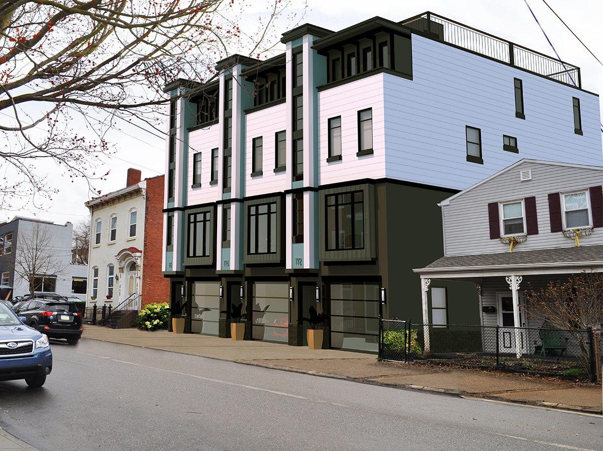 townhouses for Sale at The Residences at 43rd Street 172 43rd St Pittsburgh, Pennsylvania 15201 United States