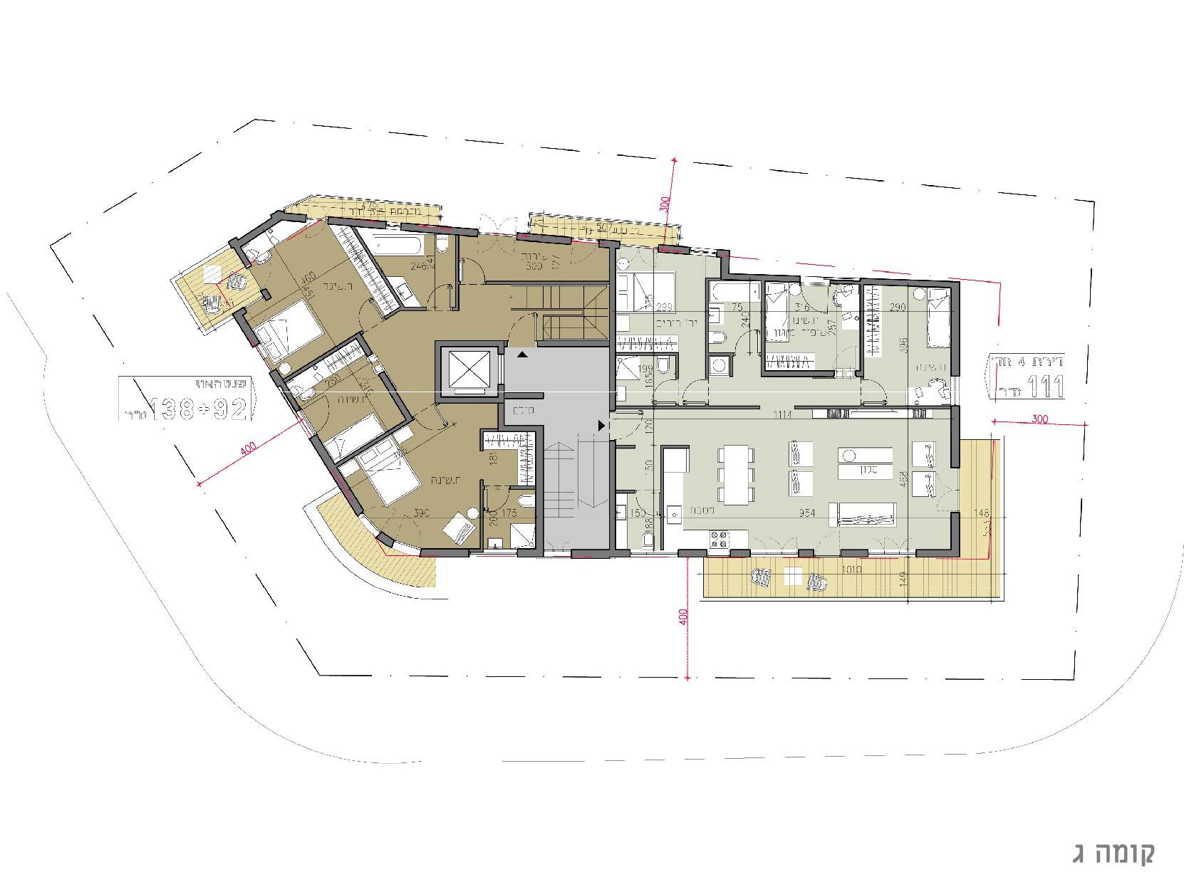 Wohnung für Verkauf beim Unique penthouse in Bauhaus building in North Tel Aviv Tel Aviv, Israel Israel