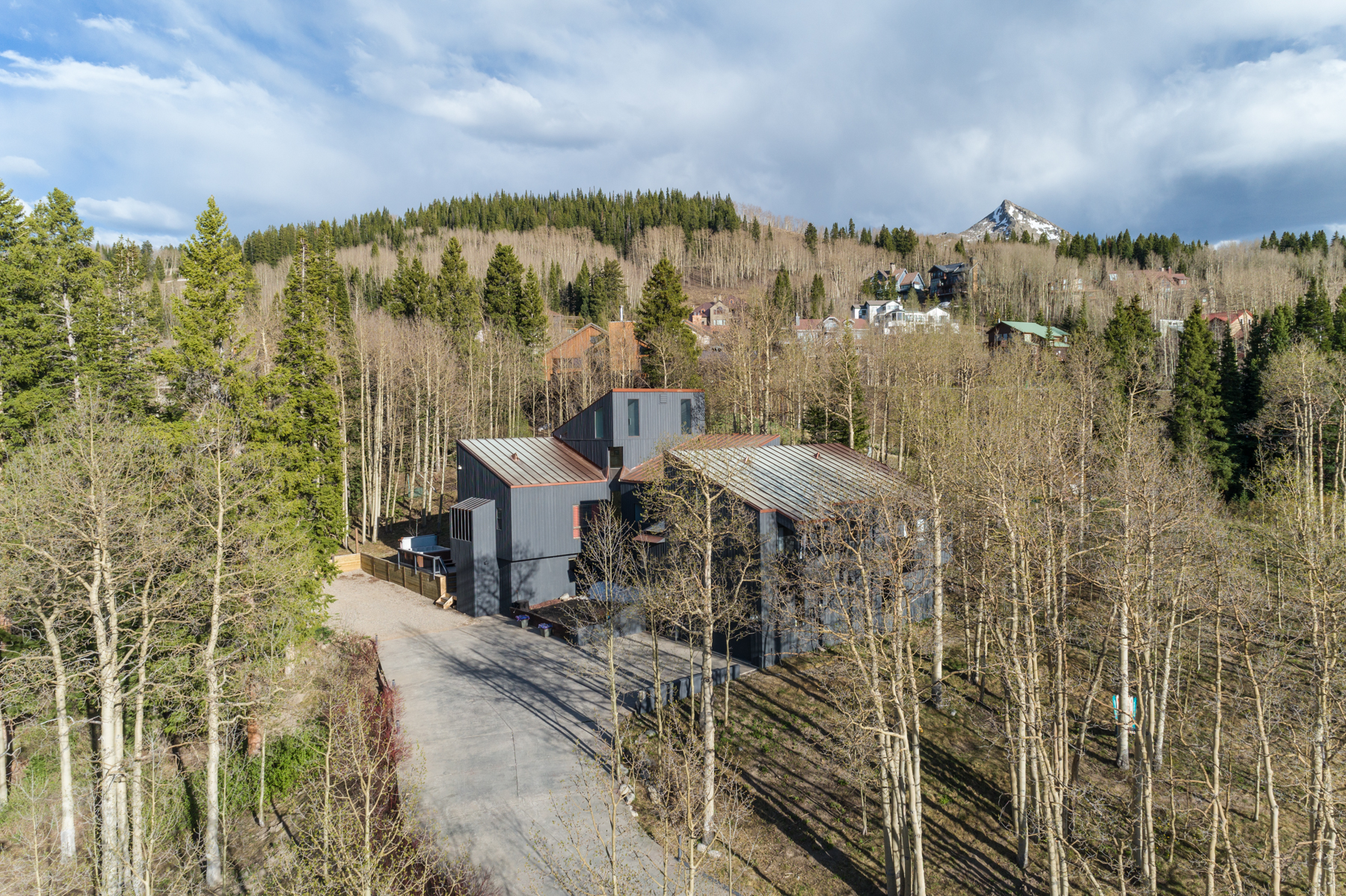Single Family Home for Active at Secluded, Contemporary Mountain Home 16 Red Lady Way Mount Crested Butte, Colorado 81225 United States