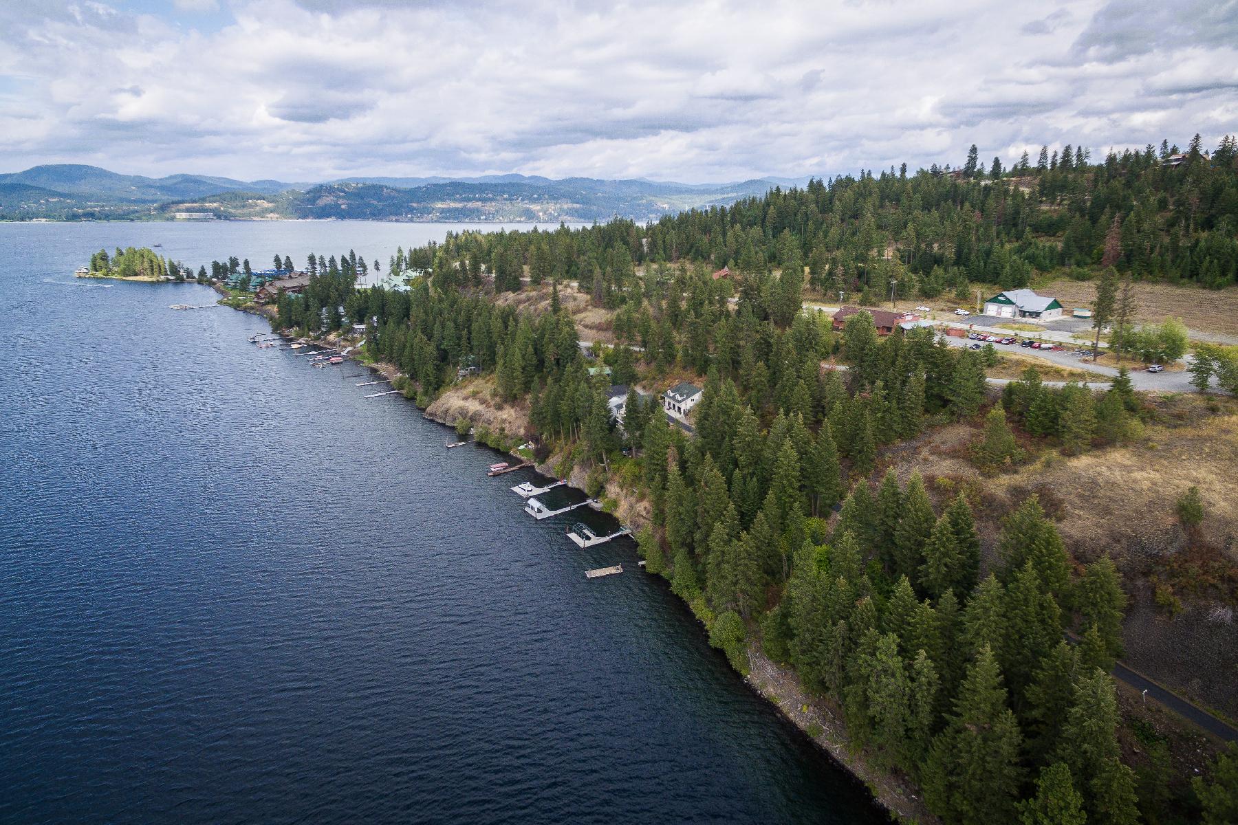 Arazi için Satış at Vacant Land with waterfront views 5445 S Catamaran Dr Harrison, Idaho, 83833 Amerika Birleşik Devletleri