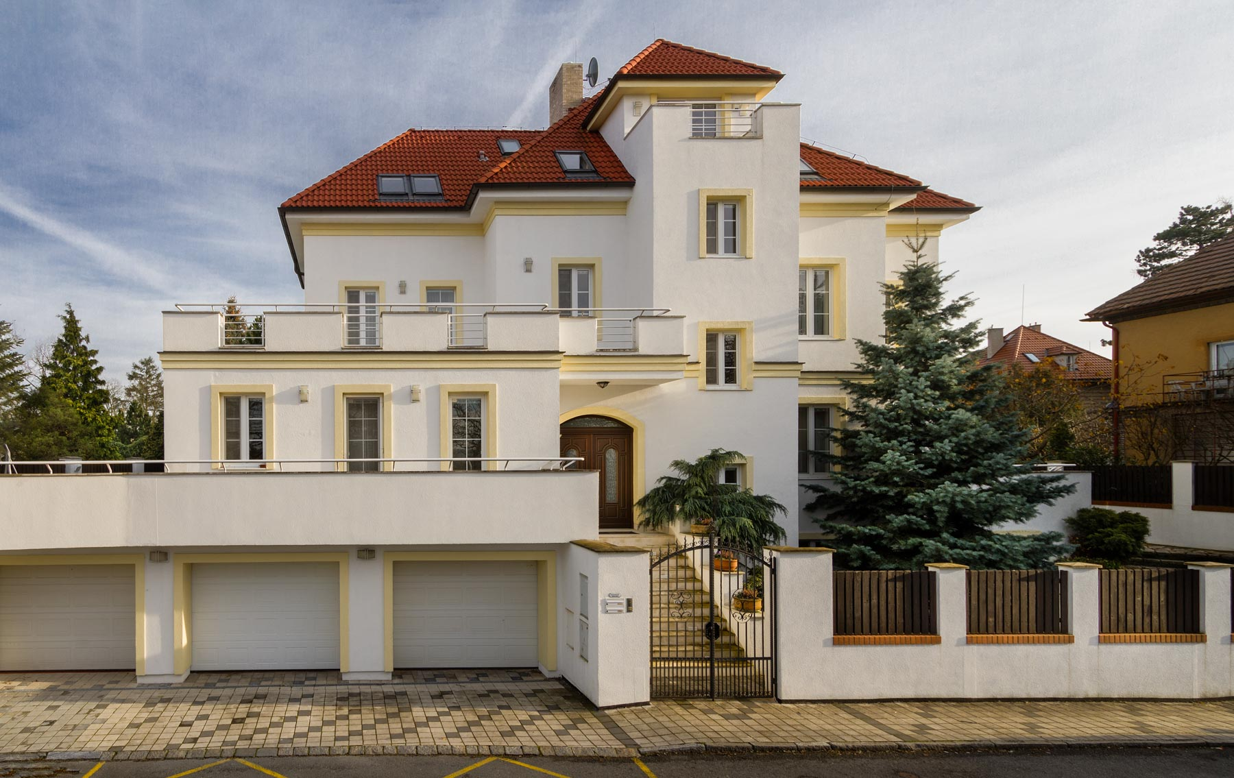 Single Family Home for Sale at Representative villa in Prague's prime residential district of Hanspaulka Nad Šárkou, Prague, Prague, 16000 Czech Republic