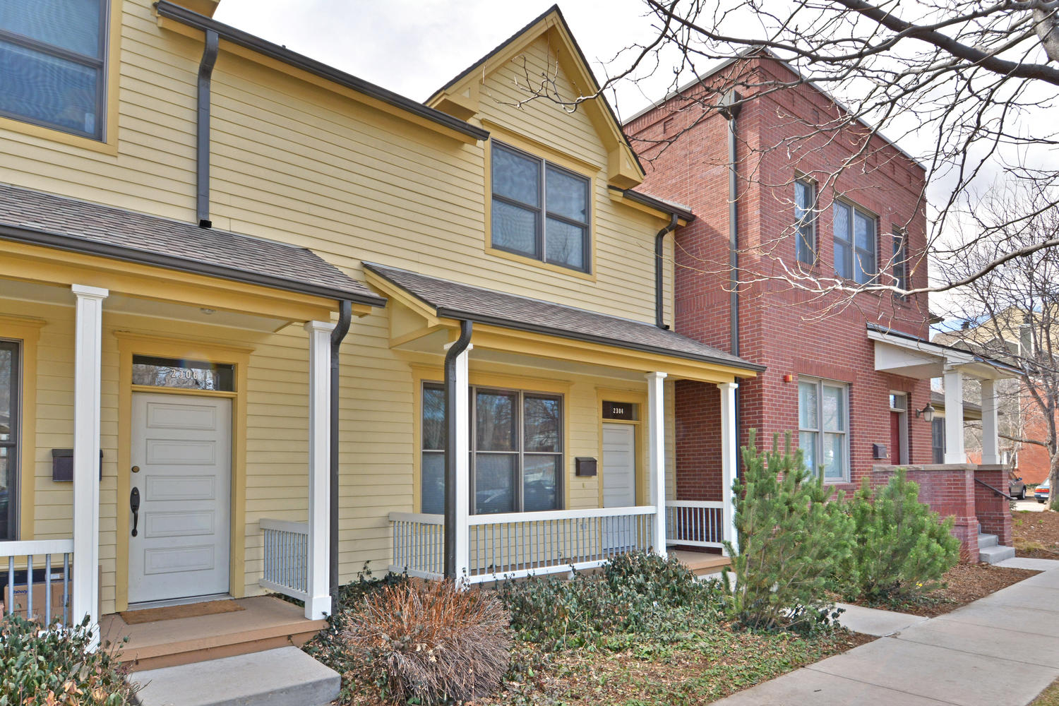 Townhouse for Sale at Beautiful 2-Story Townhouse. 2304 Spruce St 4 Boulder, Colorado, 80302 United States