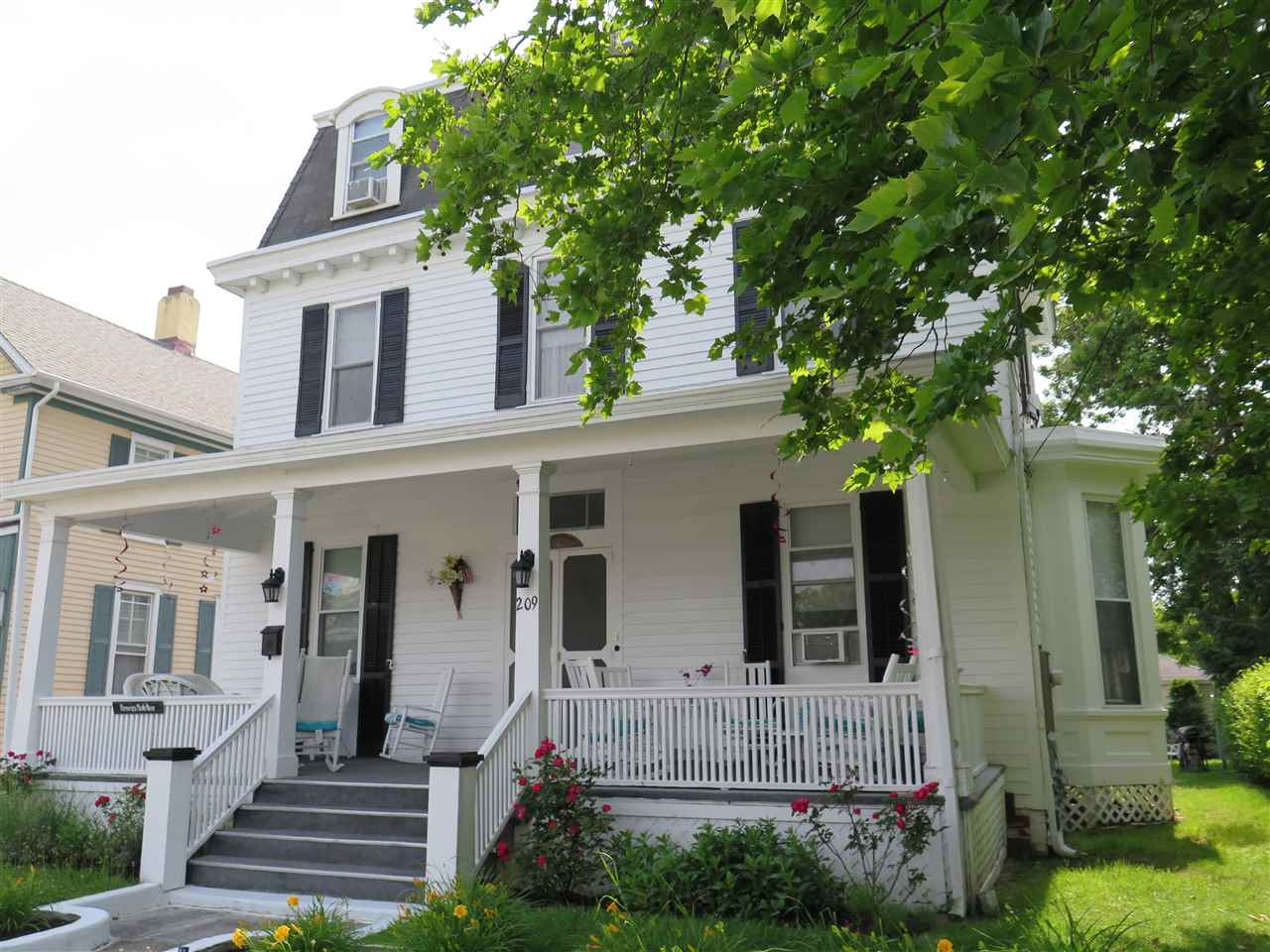 Single Family Home for Sale at 209 S Broadway Cape May, New Jersey 08204 United States