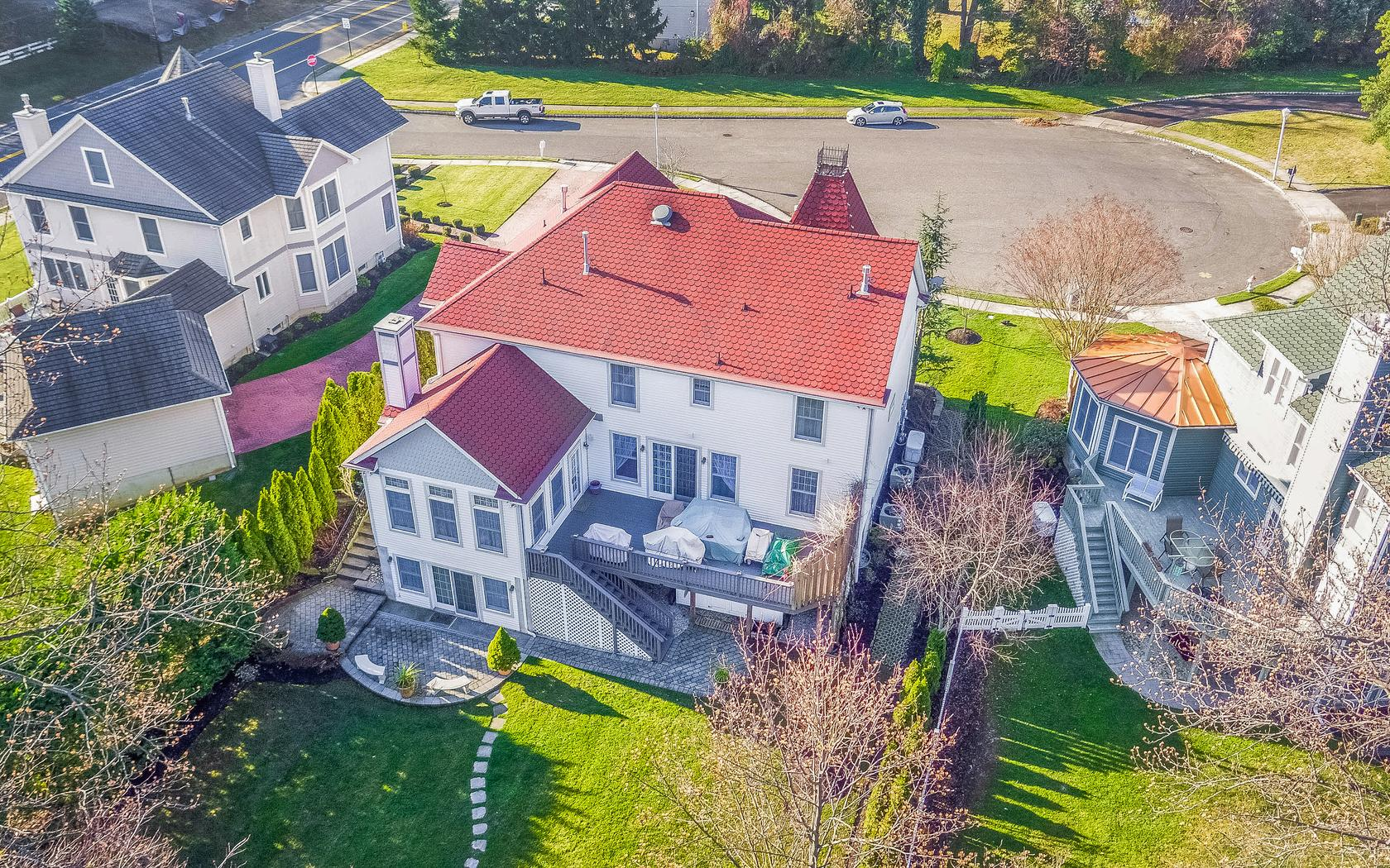 Single Family Home for Sale at Custom Built Colonial 4 Captain Bailey Court Brielle, New Jersey 08730 United States