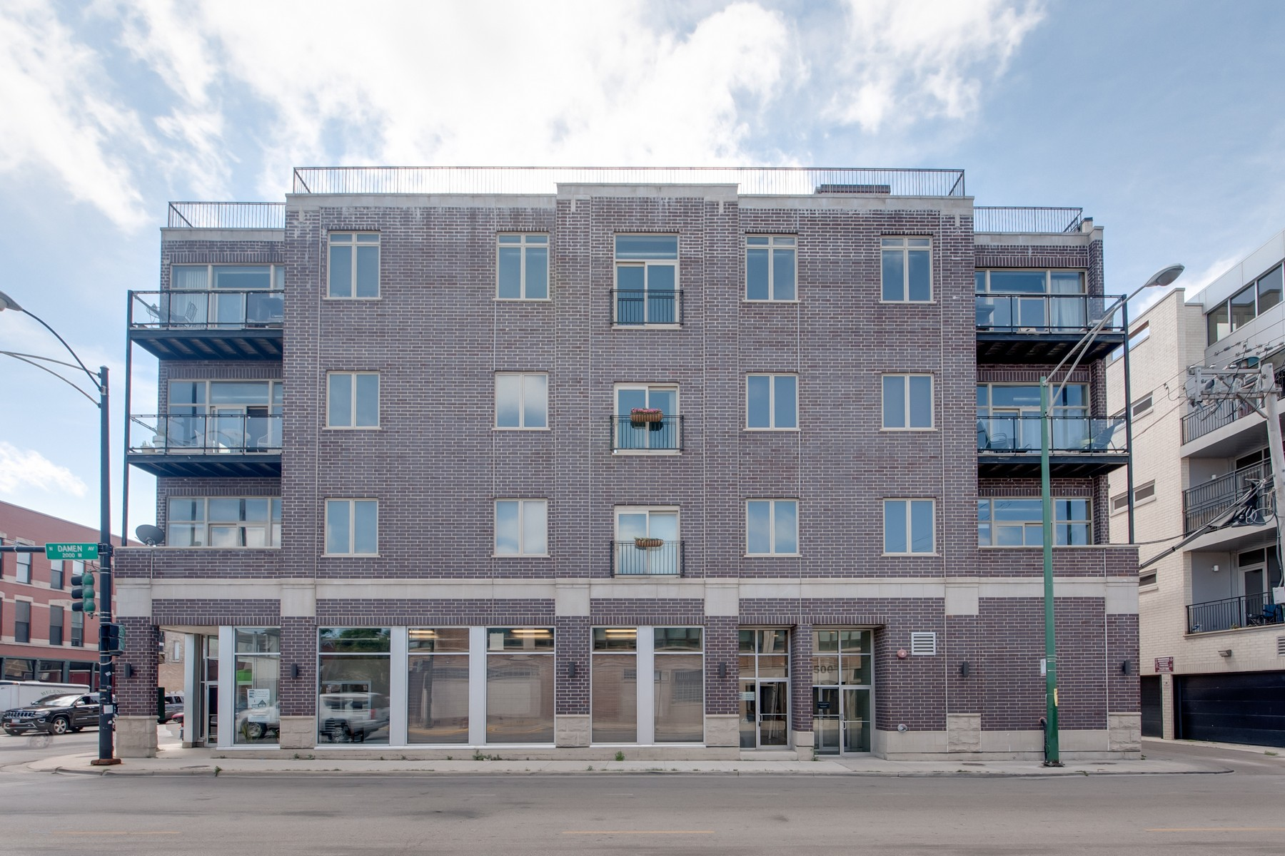 Condominium for Sale at Grand Timber Lofts 500 N Damen Avenue Unit 203 Ukranian Village, Chicago, Illinois, 60622 United States