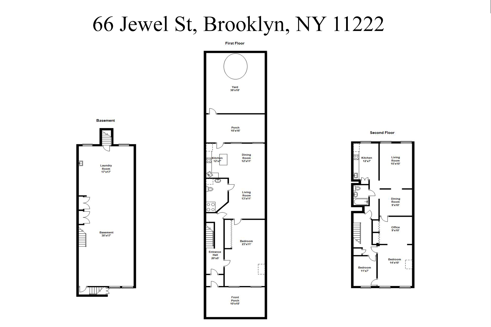 Additional photo for property listing at 66 Jewel 66 Jewel Street Brooklyn, Nueva York 11222 Estados Unidos