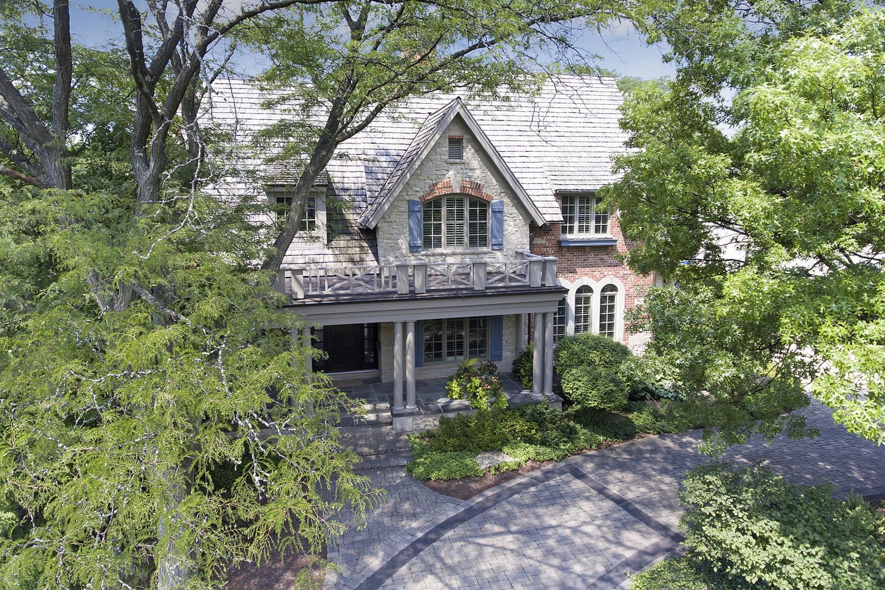 Maison unifamiliale pour l Vente à 736 Cleveland Road Hinsdale, Illinois, 60521 États-Unis