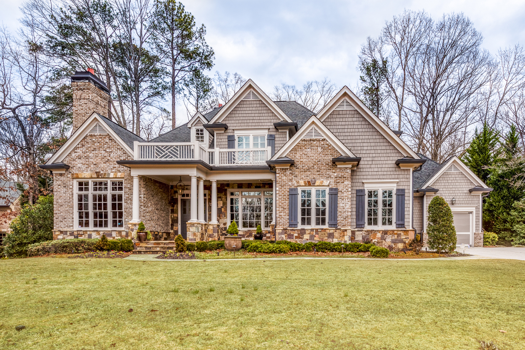 Single Family Home for Active at Custom Built Traditional 635 Colebrook Court Atlanta, Georgia 30327 United States