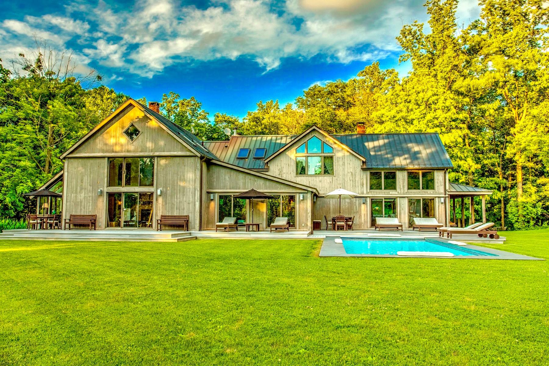 独户住宅 为 销售 在 Quintessential Country Estate 316 Avery Rd 加里森, 纽约州, 10524 美国
