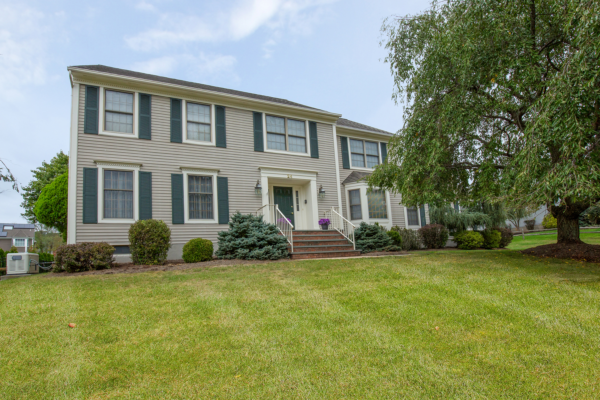Single Family Home for Sale at Stately Colonial 24 Weaver Drive Bridgewater, 08807 United States