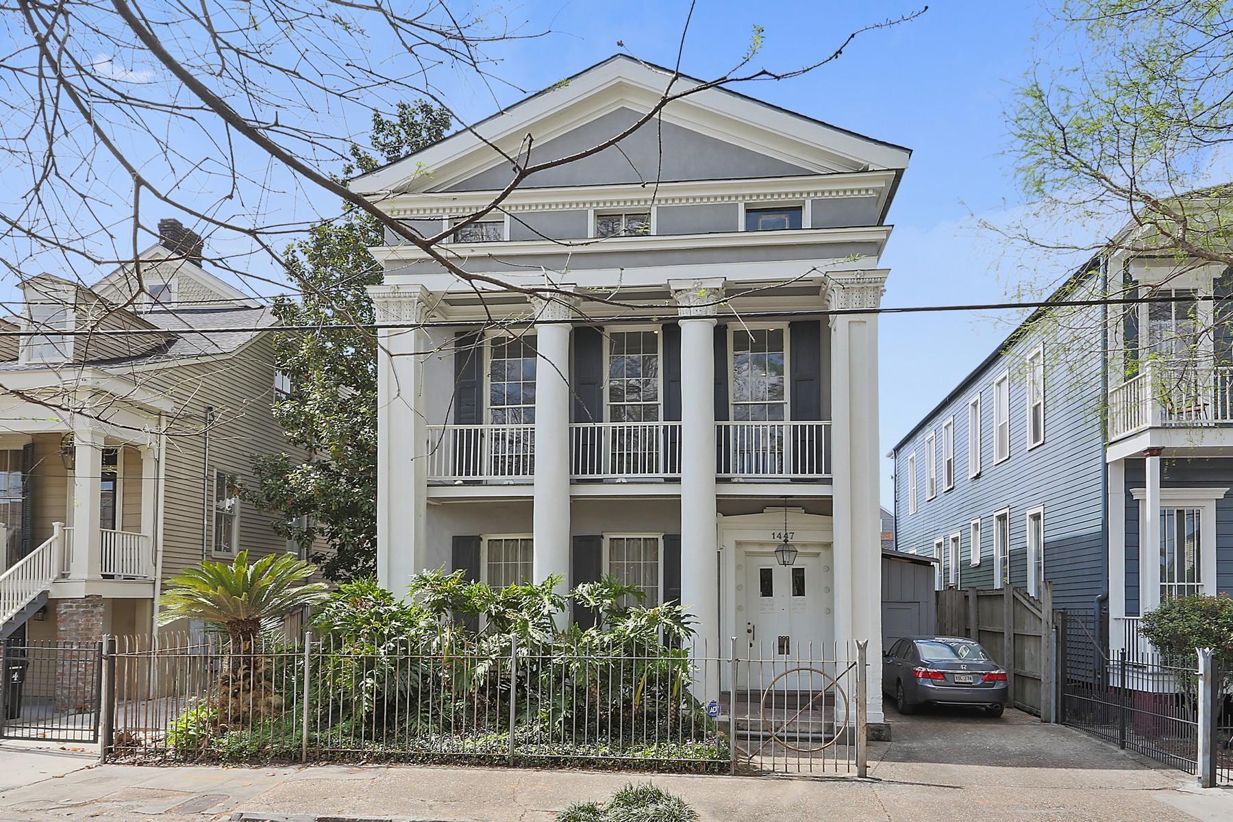 Частный односемейный дом для того Продажа на 1447 Constance Street New Orleans, Луизиана, 70130 Соединенные Штаты