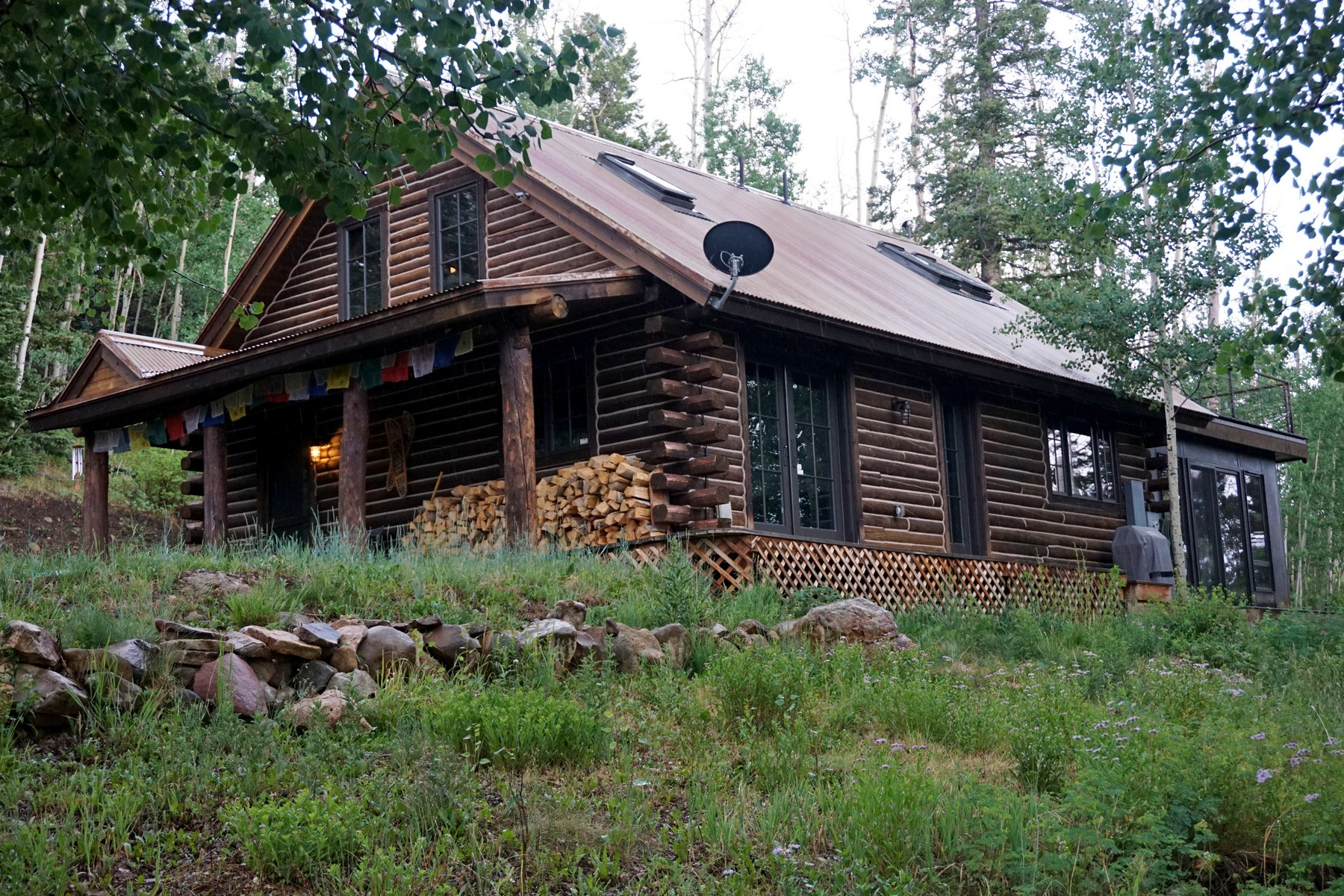Single Family Home for Active at 444 Woods Road 444 Woods Road Placerville, Colorado 81430 United States
