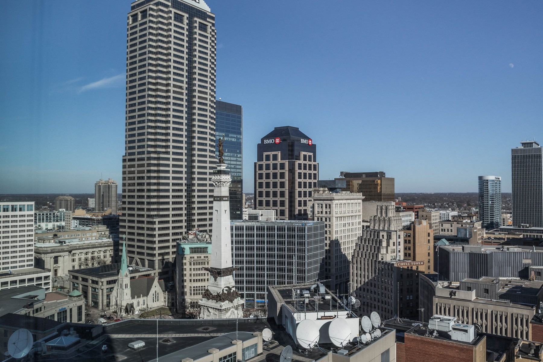 Additional photo for property listing at Downtown Condo with Views of Monument Circle 1 N. Illinois Street, Unit # 2004 Indianapolis, Indiana 46204 United States