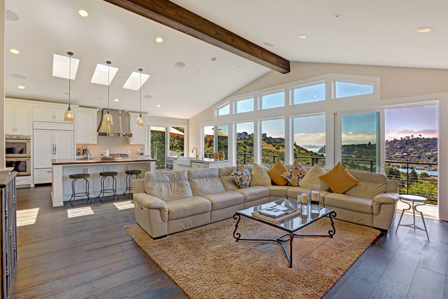 Property for Sale at Fabulous Tiburon View Home for Indoor-Outdoor Living 123 Round Hill Rd Tiburon, California 94920 United States