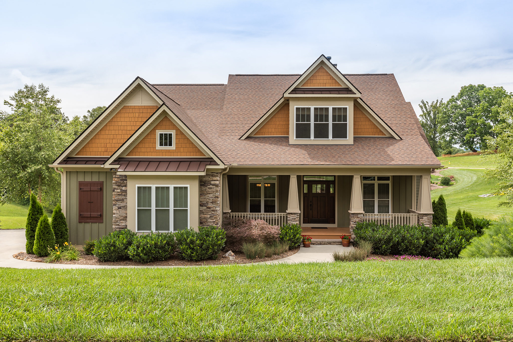 Single Family Homes for Active at GRAND HIGHLANDS AT WATERFORD LAKES 32 Lake Vista Dr Fletcher, North Carolina 28732 United States