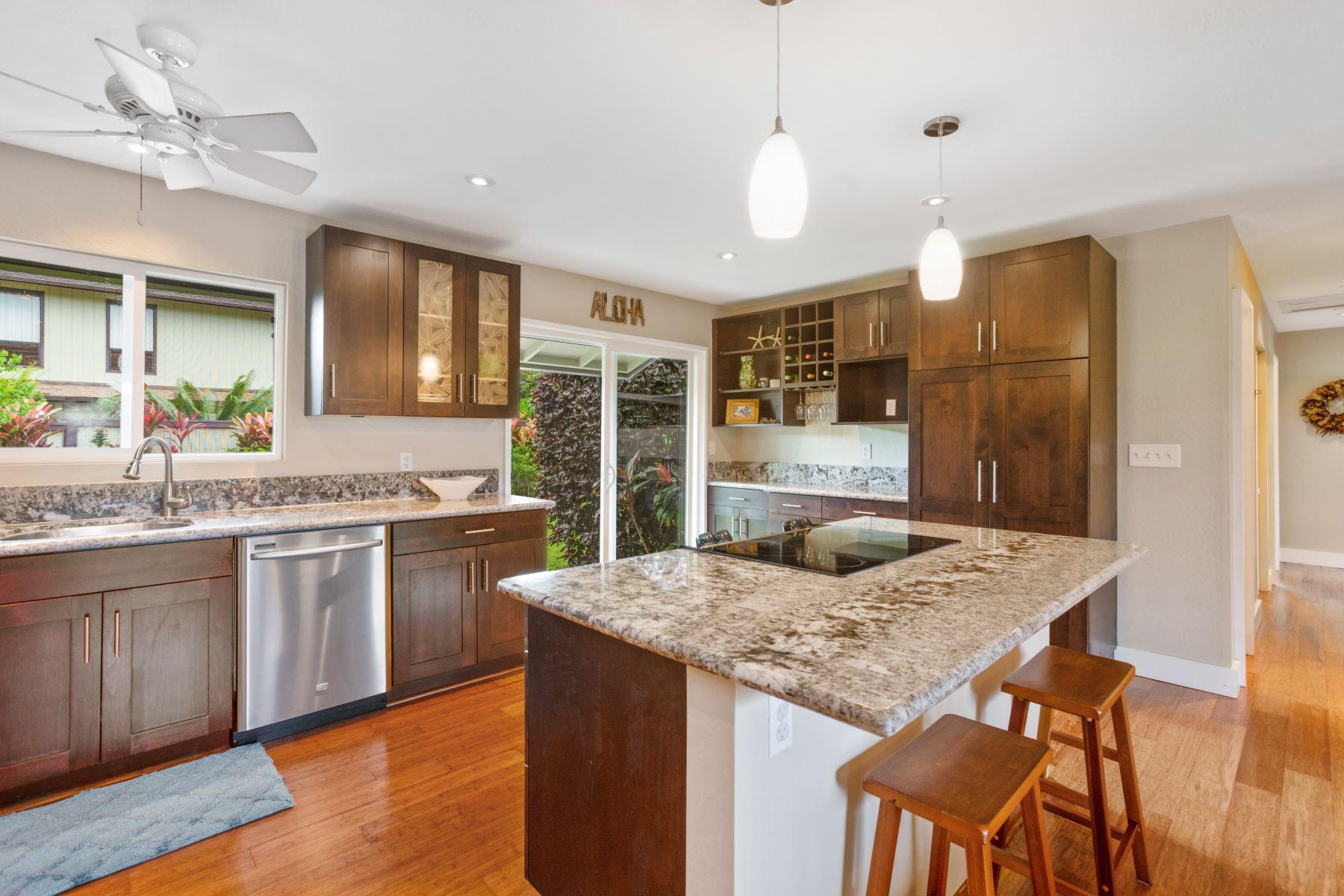 獨棟家庭住宅 為 出售 在 Aina Hala Kahiki 1291 Puuopae Road Unit A #1 Kapaa, 夏威夷 96746 美國