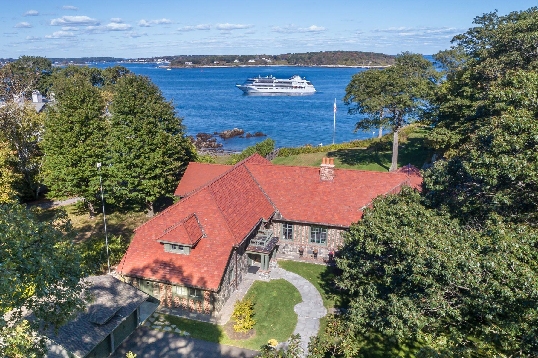 Casa Unifamiliar por un Venta en 900 Shore Road Cape Elizabeth, Maine 04107 Estados Unidos