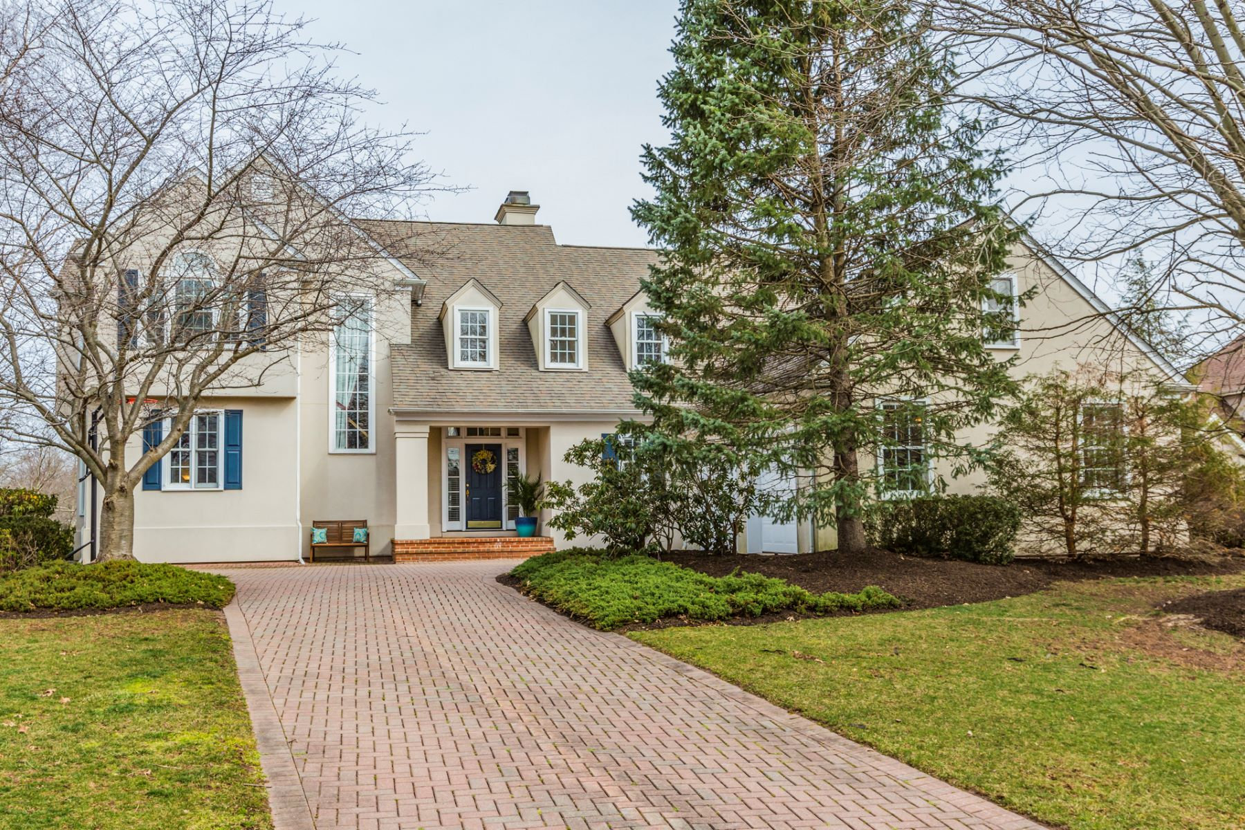 Single Family Home for Sale at Beautiful Architectural Detailing - Montgomery Township 1 La Costa Court Skillman, New Jersey, 08558 United States