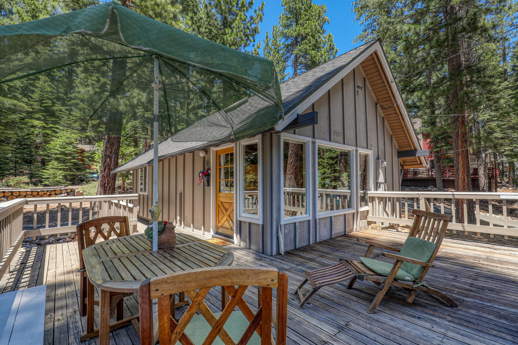 Single Family Homes for Active at Sweet and Charming Tahoe Cabin 5927 Dodowah Road Carnelian Bay, California 96140 United States