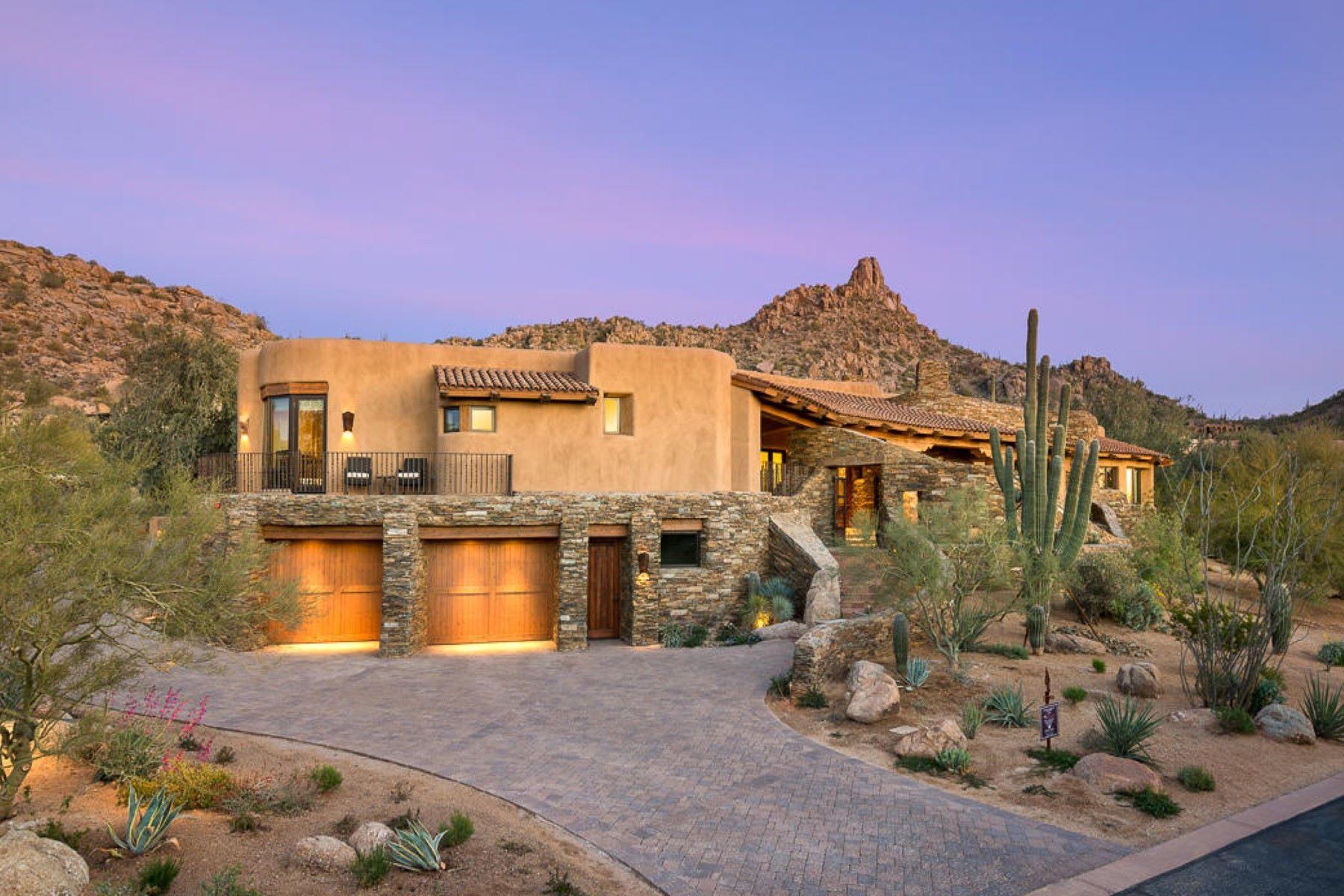 獨棟家庭住宅 為 出售 在 Gorgeous custom Scottsdale Home In the Gated Community of Estancia 27185 N 97th Pl, Scottsdale, 亞利桑那州, 85262 美國