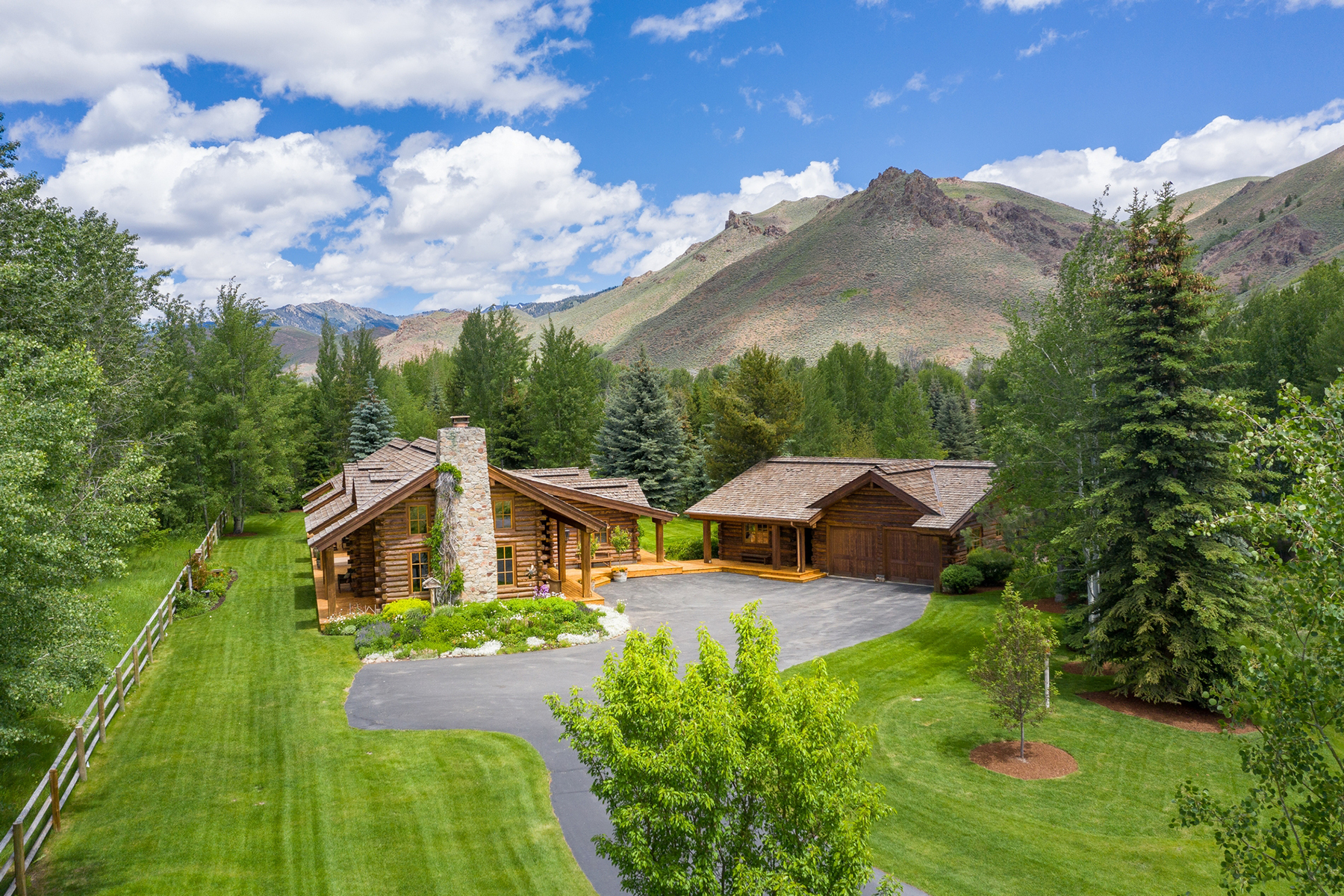 Single Family Homes for Sale at Exclusive Adams Gulch location 121 Old Mill Road Ketchum, Idaho 83340 United States