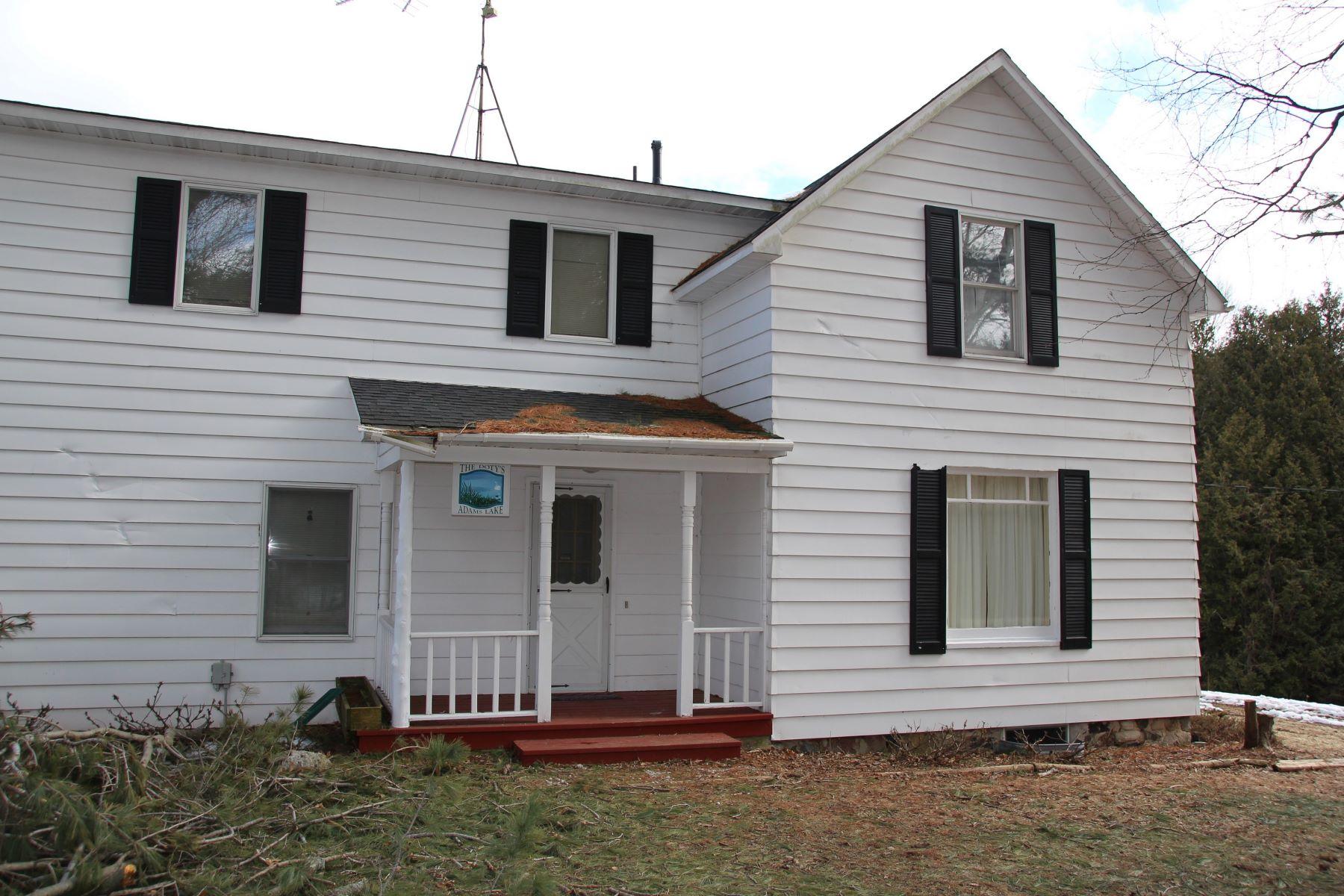 Частный односемейный дом для того Продажа на 03882 Loab Road 03882 Loeb Road, Charlevoix, Мичиган, 49720 Соединенные Штаты