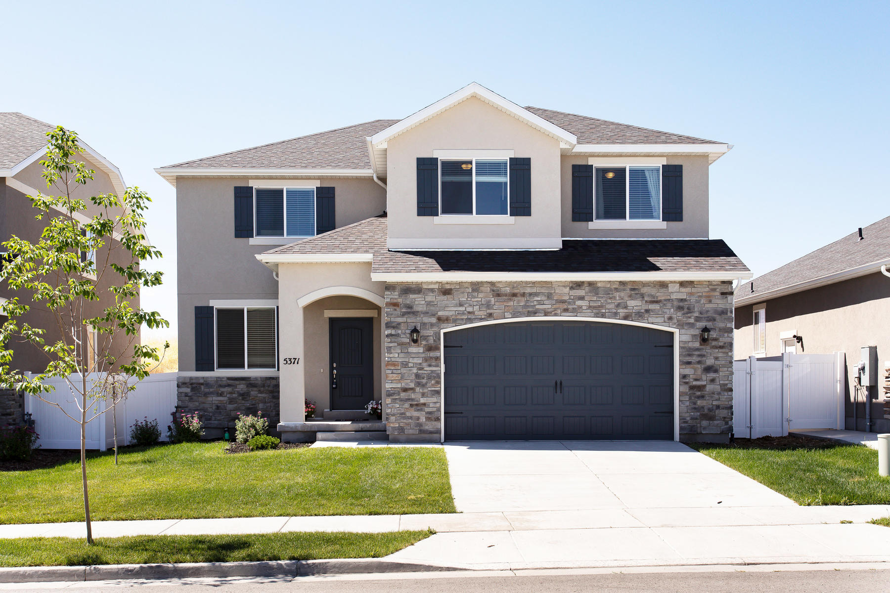 Single Family Homes for Active at Fully Finished Home Only One Year Old 5371 W Iron King Drive Herriman, Utah 84096 United States