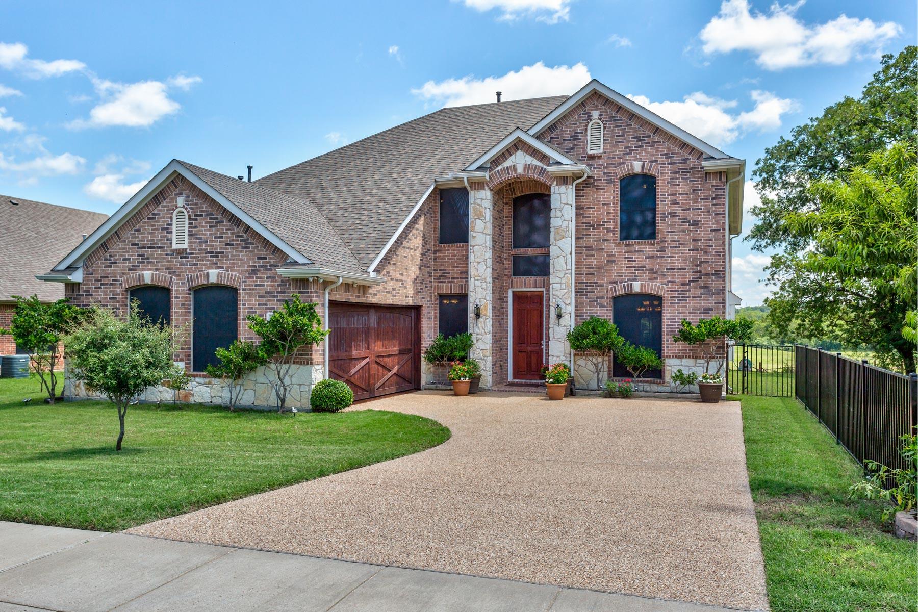 Maison unifamiliale pour l Vente à 918 Thistle Hill Trail Weatherford, Texas, 76087 États-Unis