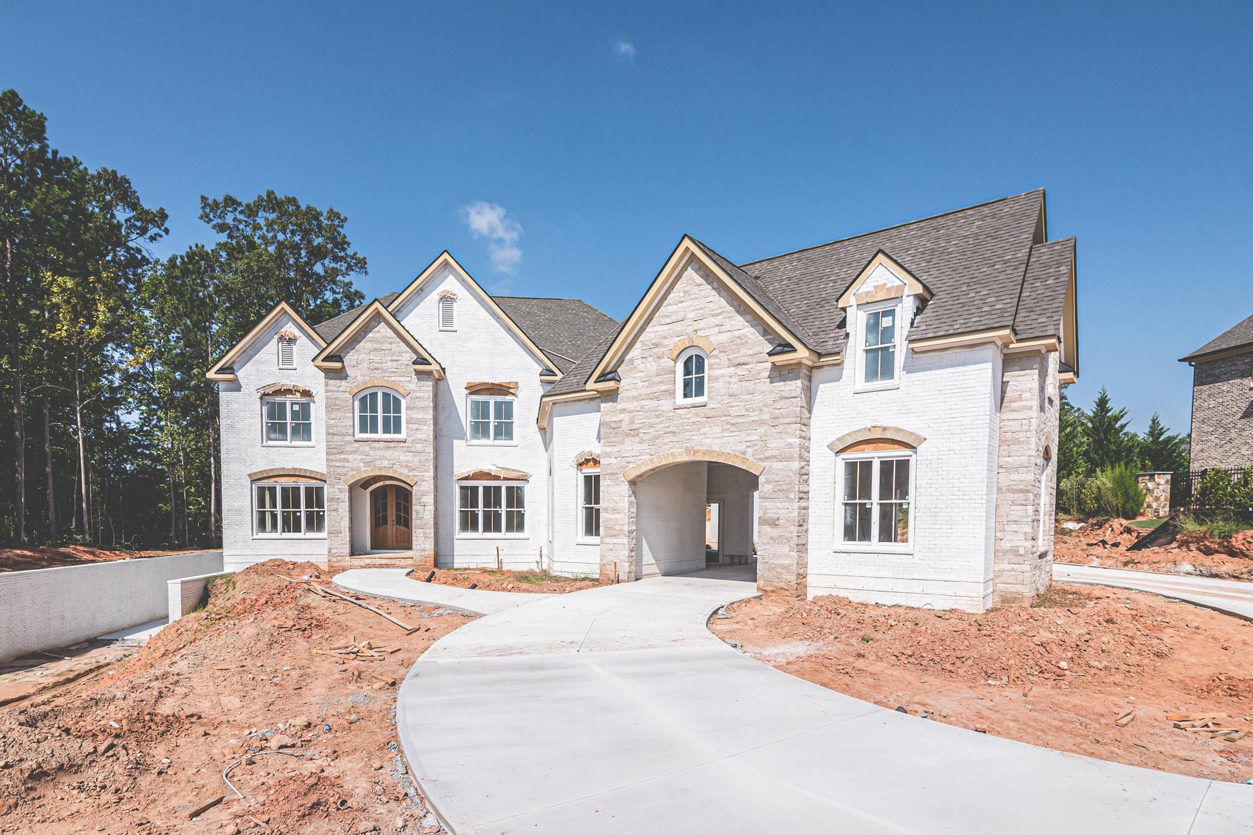 Single Family Homes 용 매매 에 Private Luxury 16043 Manor Club Drive, Milton, 조지아 30004 미국