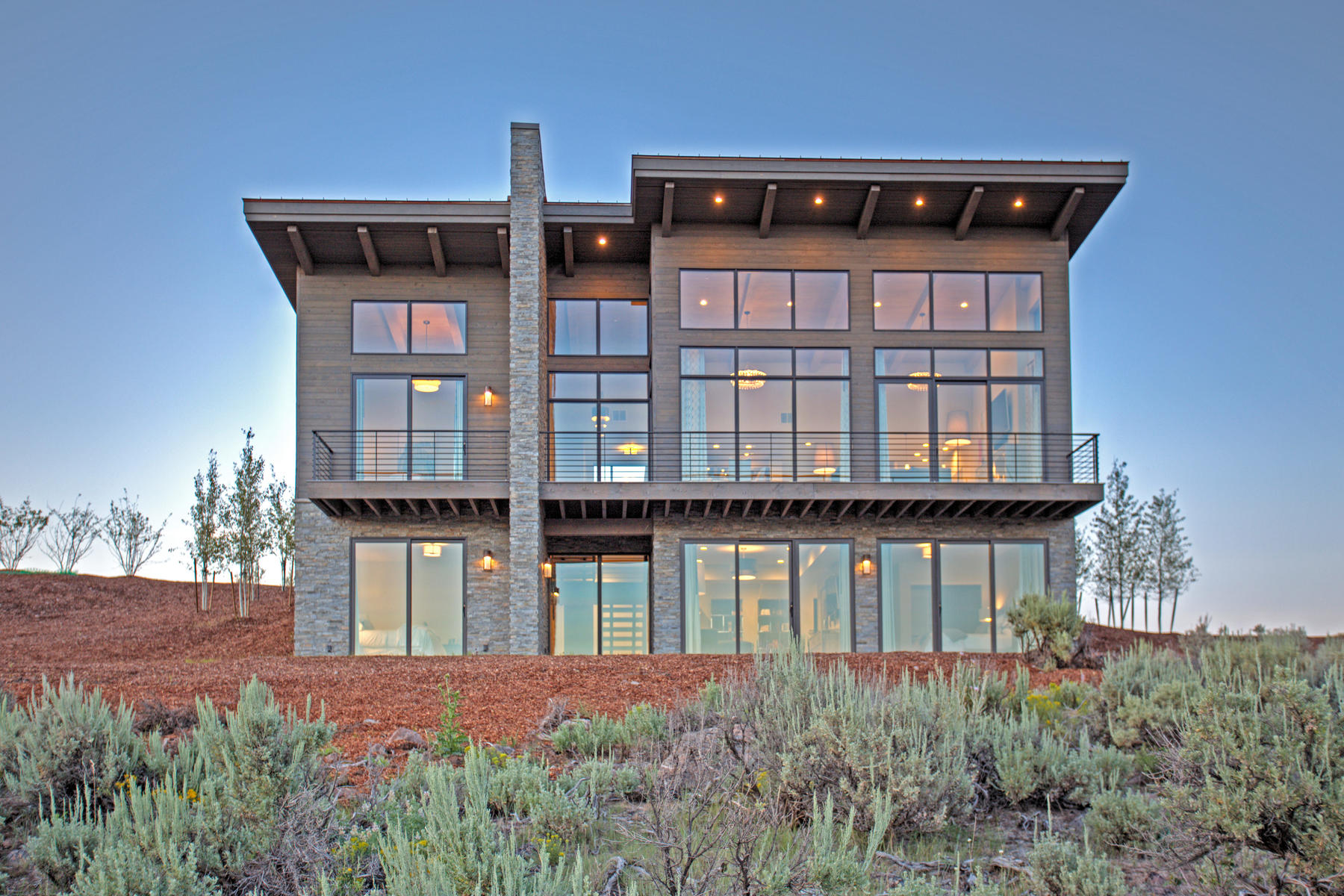 Частный односемейный дом для того Продажа на Modern Luxury In Your Mountain Escape 6658 Badger Ct Lot #44 Park City, Юта, 84098 Соединенные Штаты