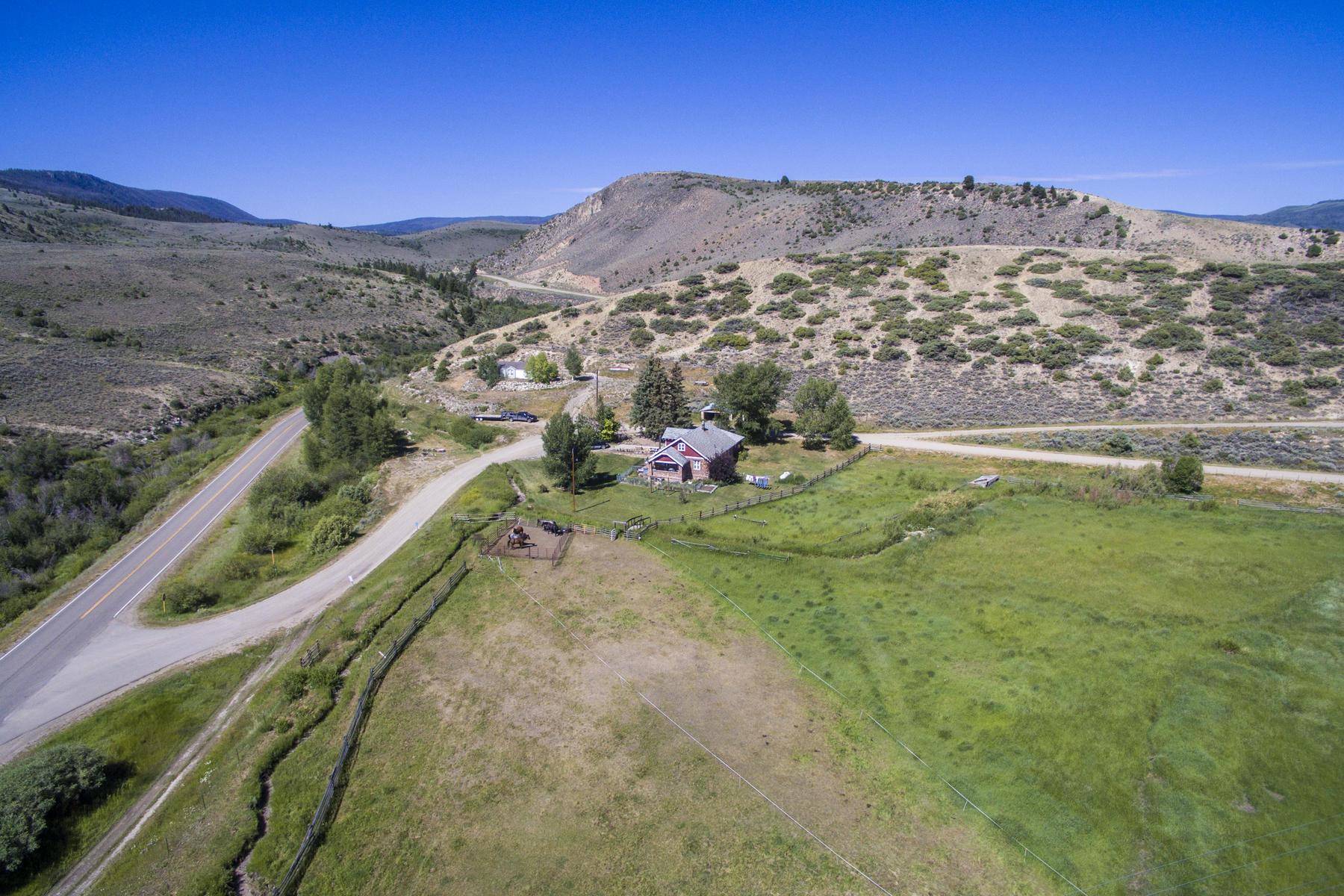 Farm / Ranch / Plantation for Active at Gore Pass Ranch 58 County Road 17 Kremmling, 80459 United States