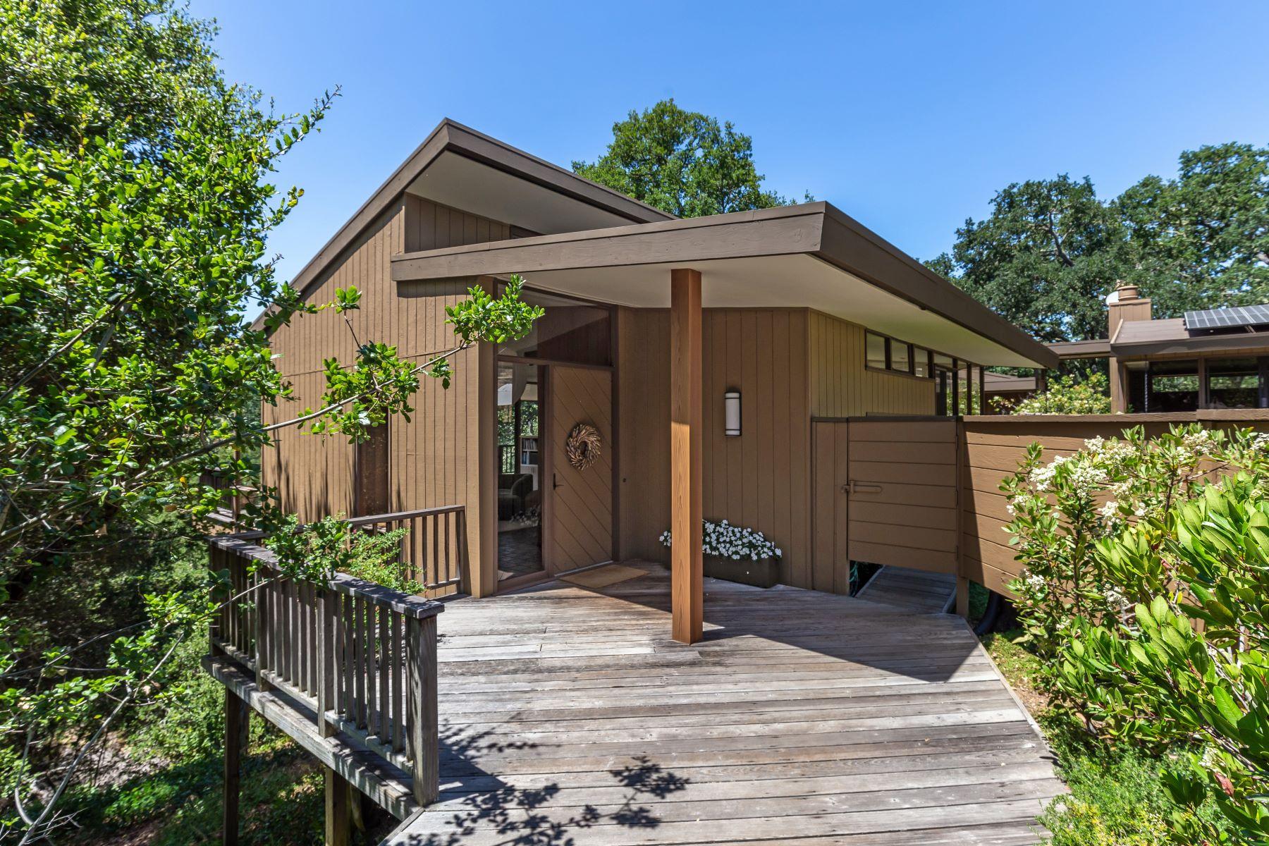Other Residential Homes por un Venta en Captivating Mid-Century Modern 177 Ramoso Road Portola Valley, California 94028 Estados Unidos