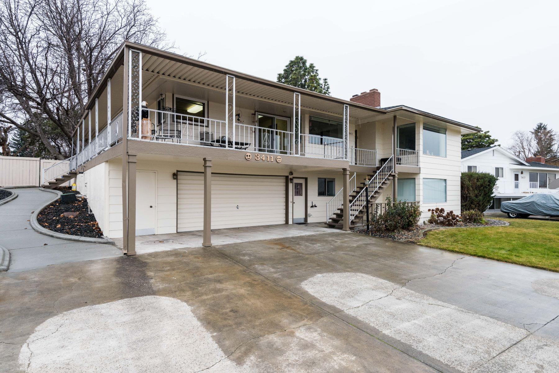 Частный односемейный дом для того Продажа на River View 3411 West Canal Drive, Kennewick, Вашингтон, 99336 Соединенные Штаты